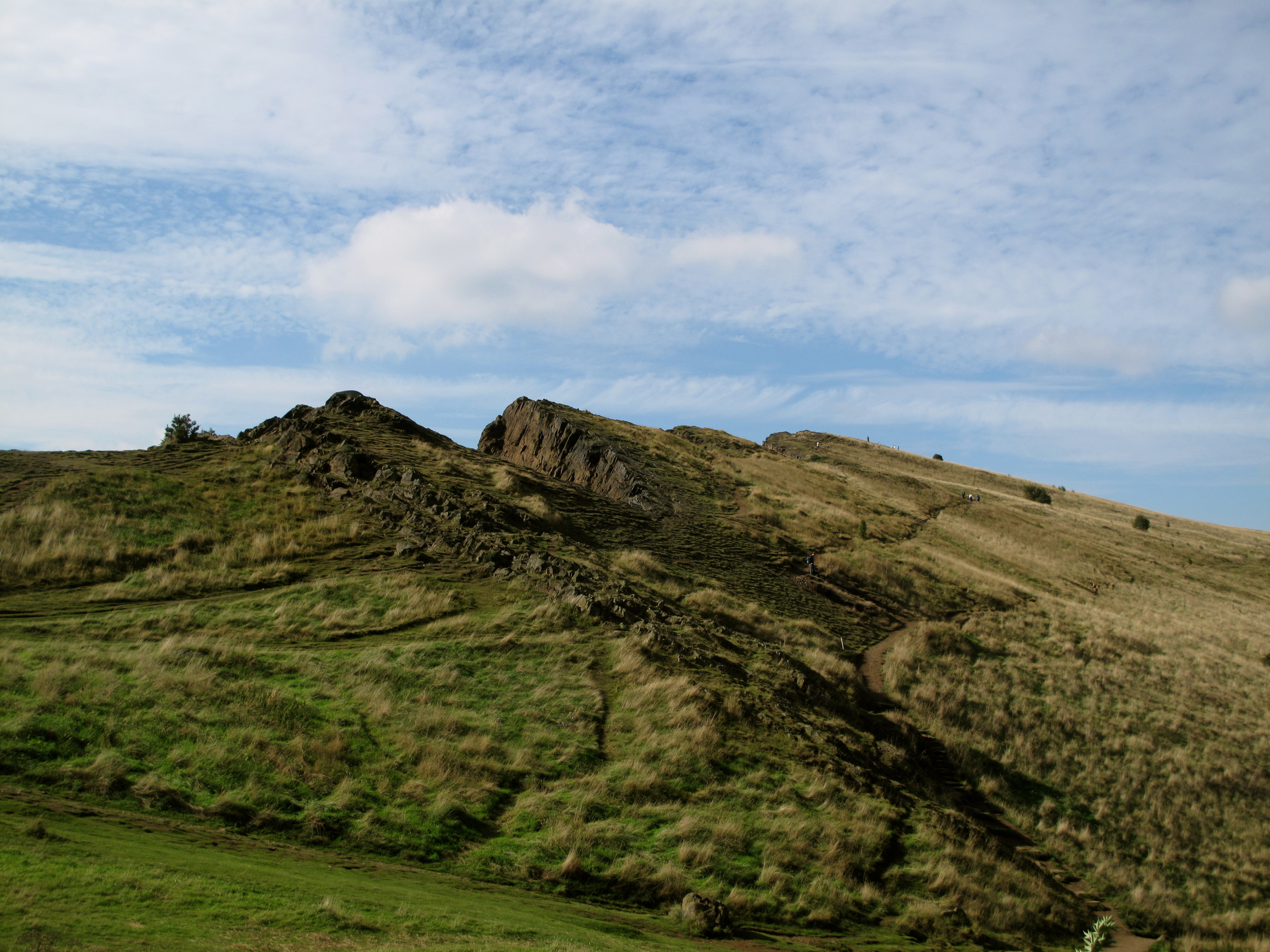 Holyrood park - a wild hilly place on the outskirts of Edinburgh