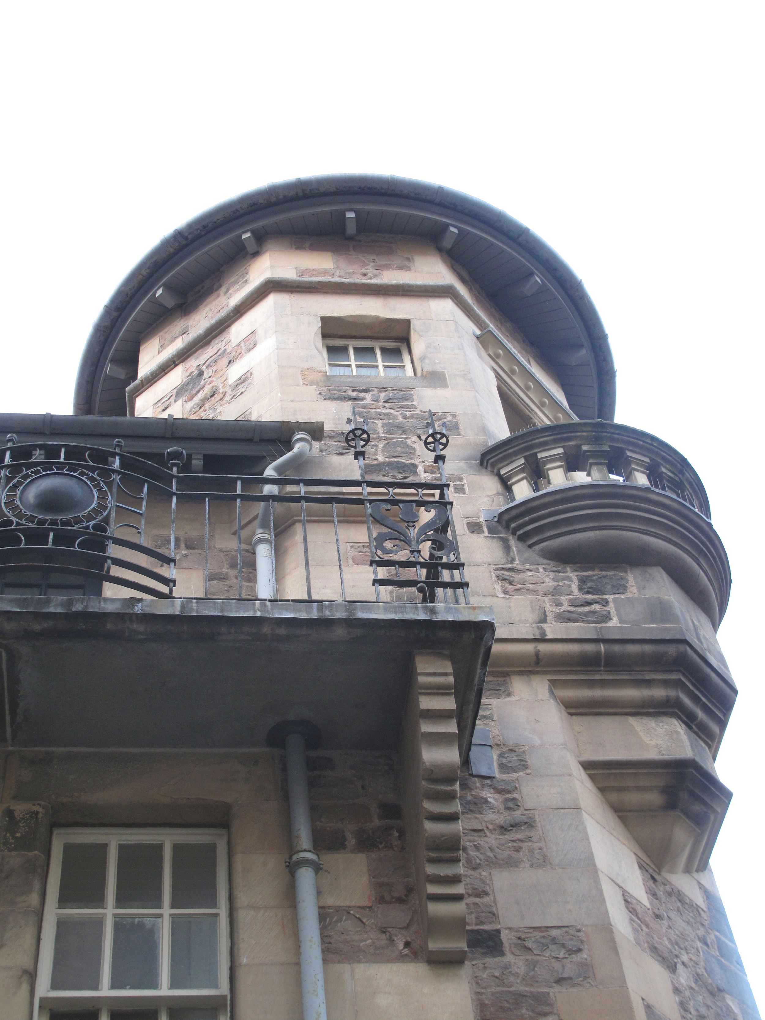Lady Stair's Close house and turret.