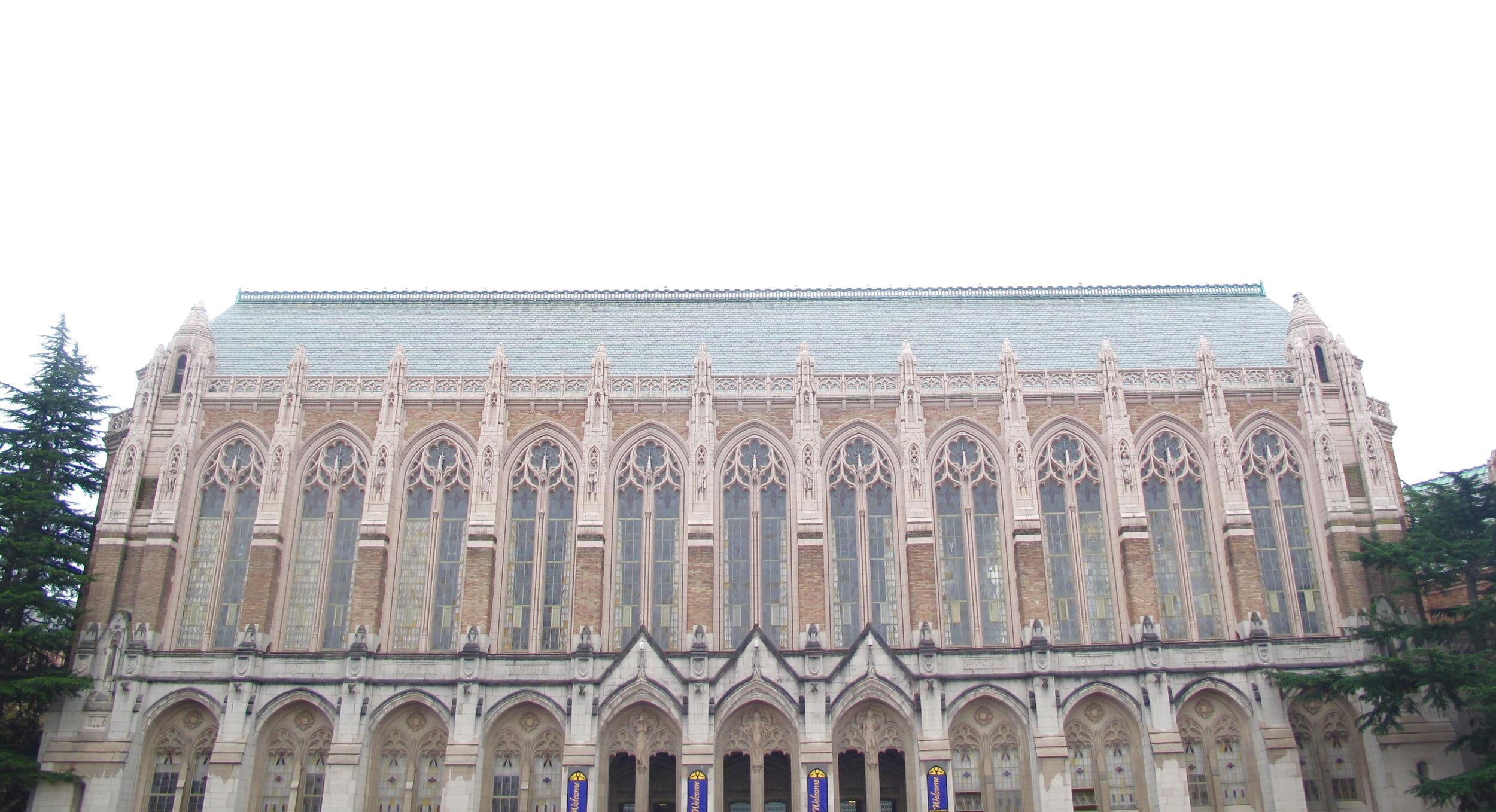The Reading Room library at the University of Washington.