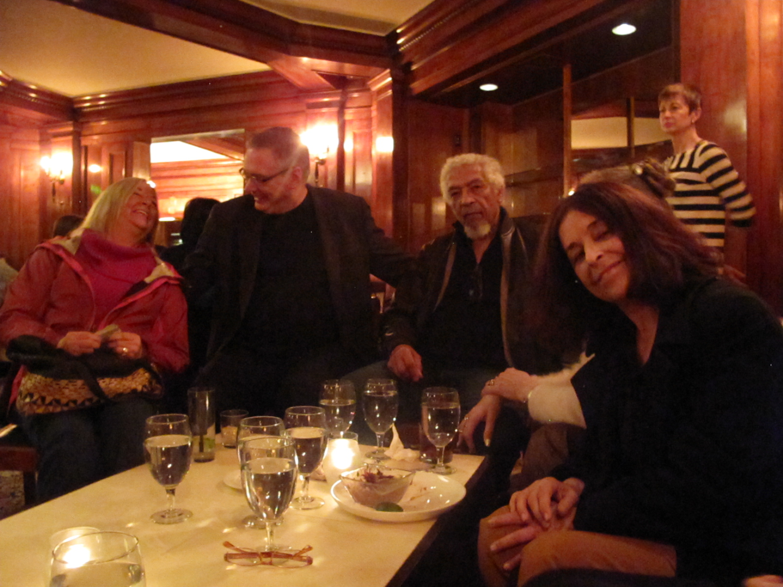 The regular crowd, Overton Berry jazz in Seattle.