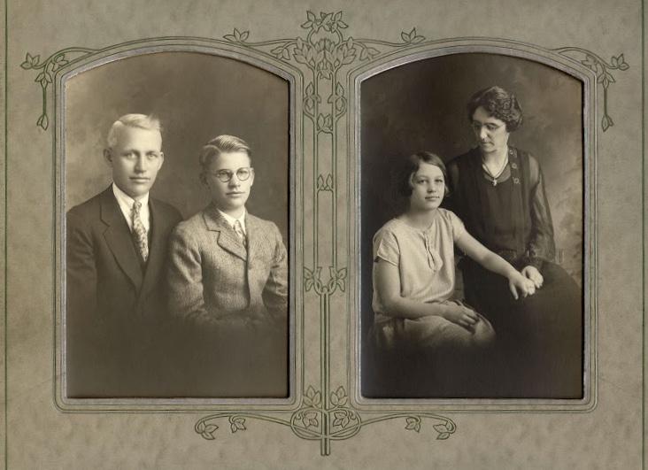 The Frank family.