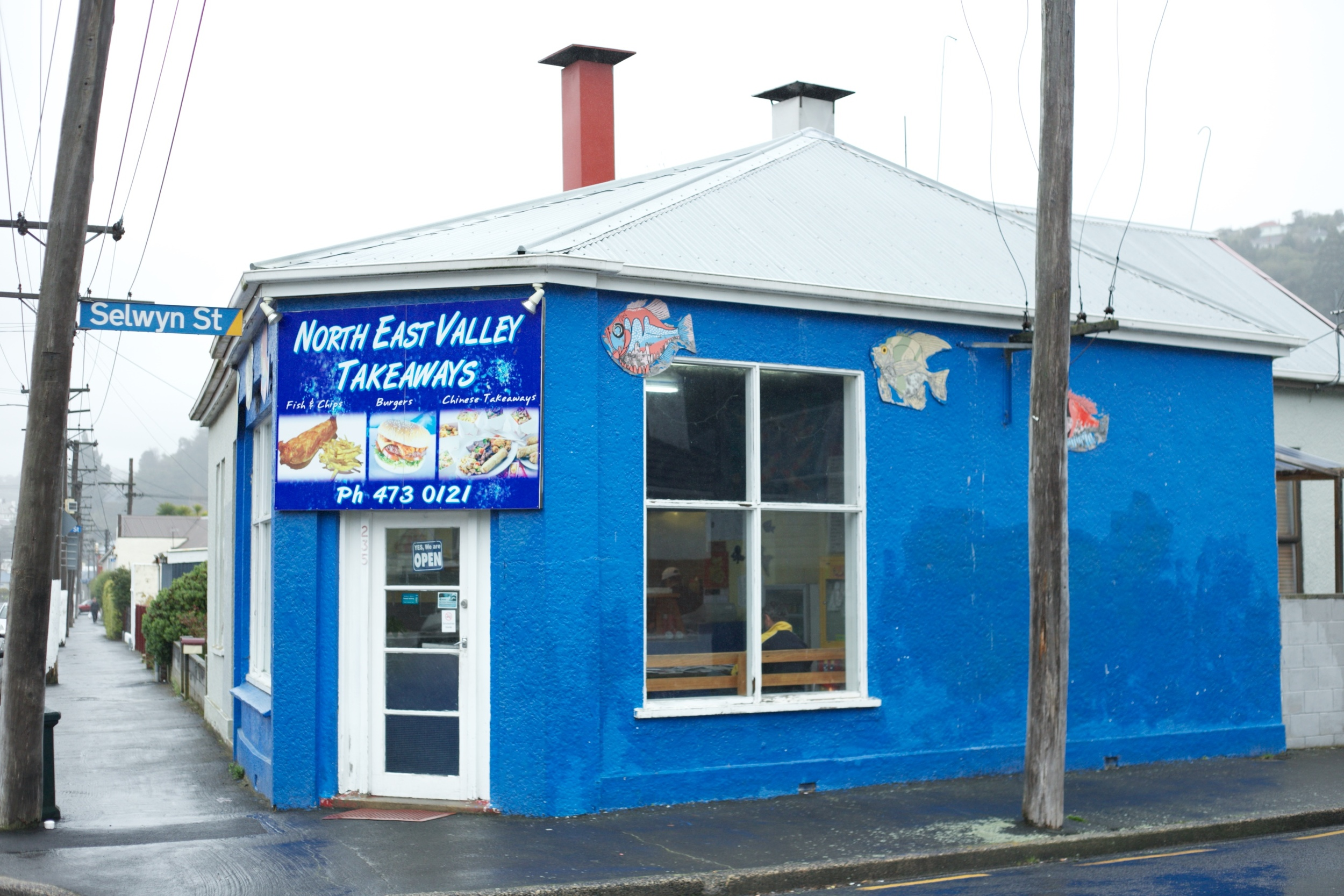 Best fish and chips list Dunedin - North East Valley Takeaways.