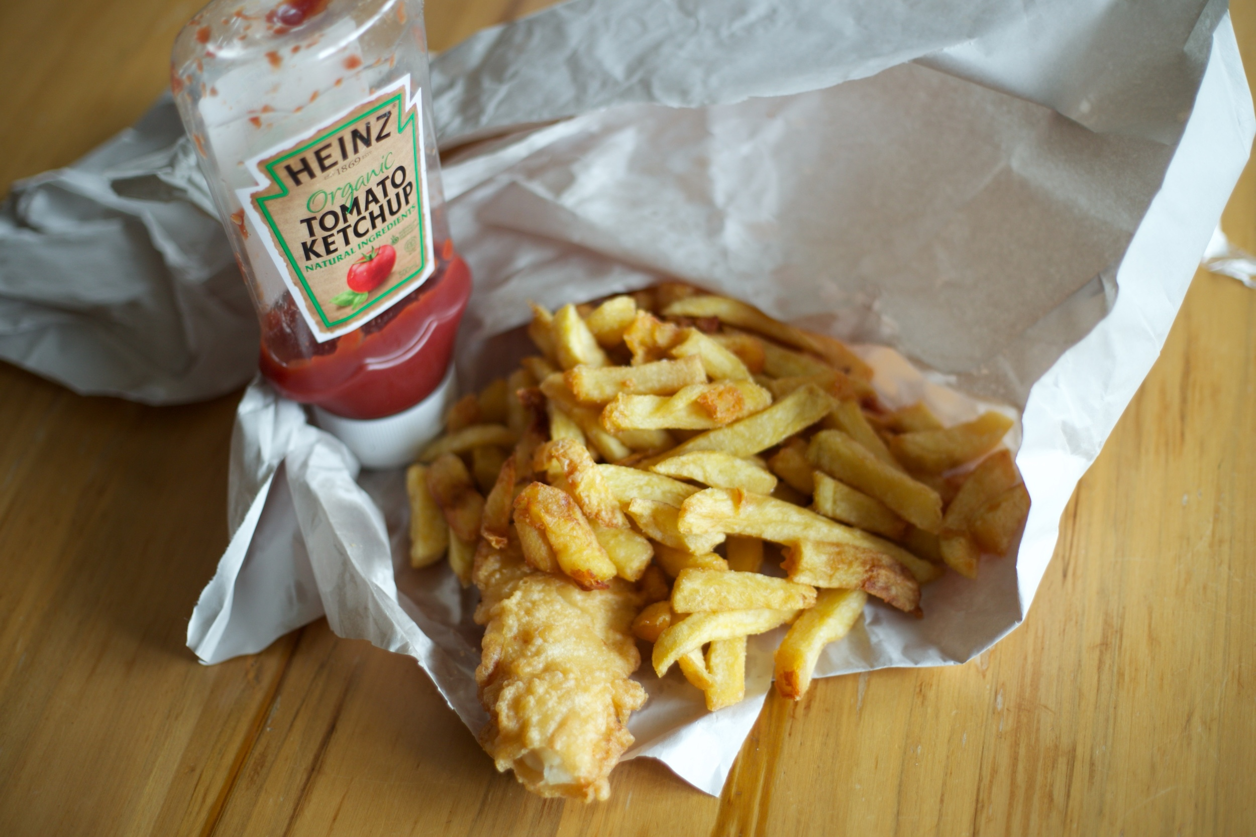 Best fish and chips, Dunedin, NZ.