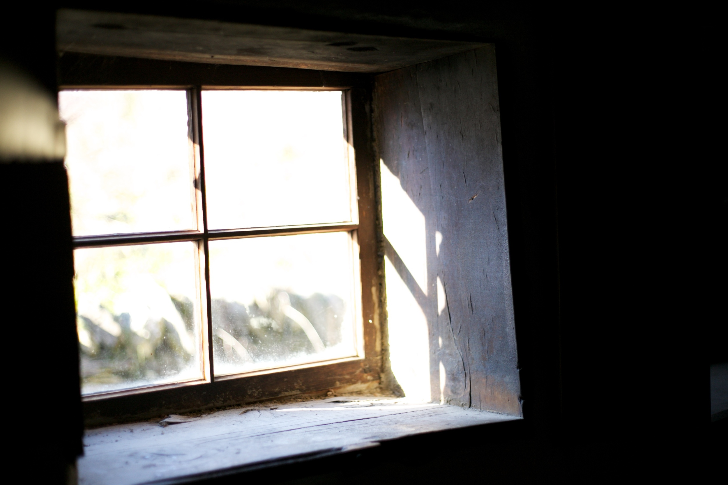 A real hobbit hole window in an old mining village NZ.