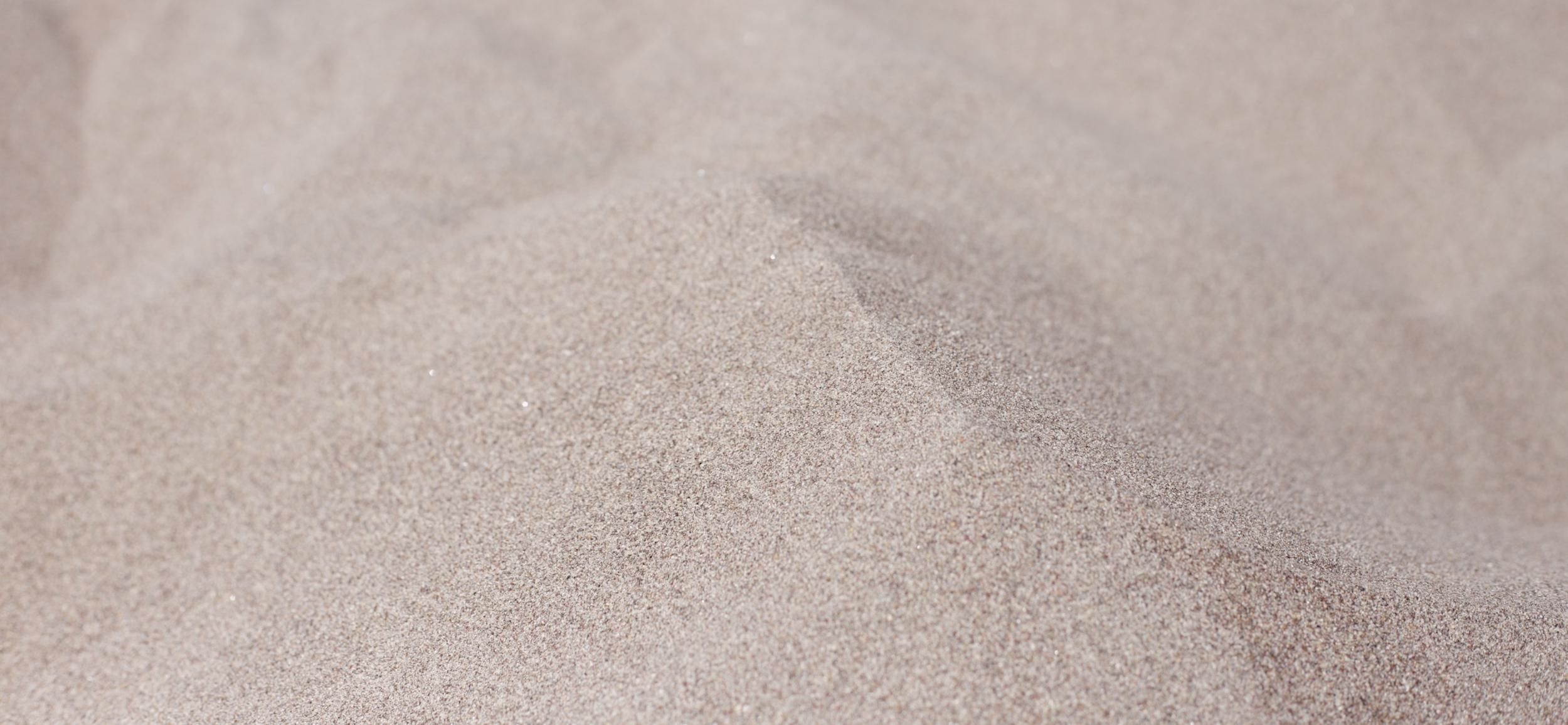 Grains of sand at Sand Dunes national park.