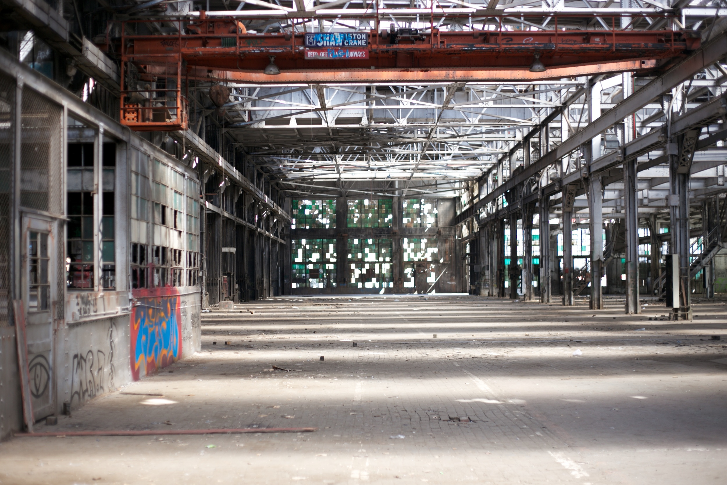 The Rail Yards - a beautiful abandoned complex of buildings in Albuquerque