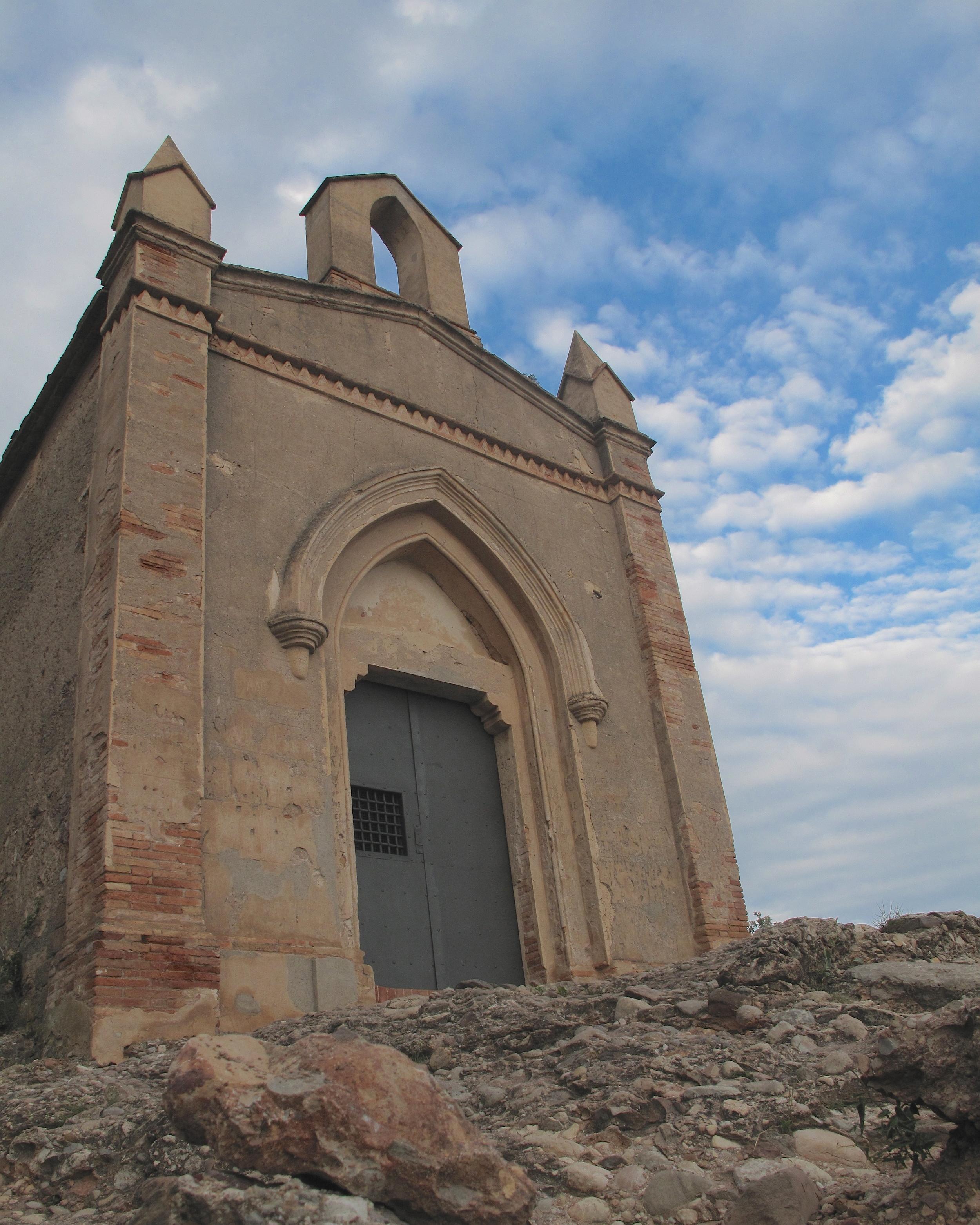 St Jerome chapel on Montserrat mountain.