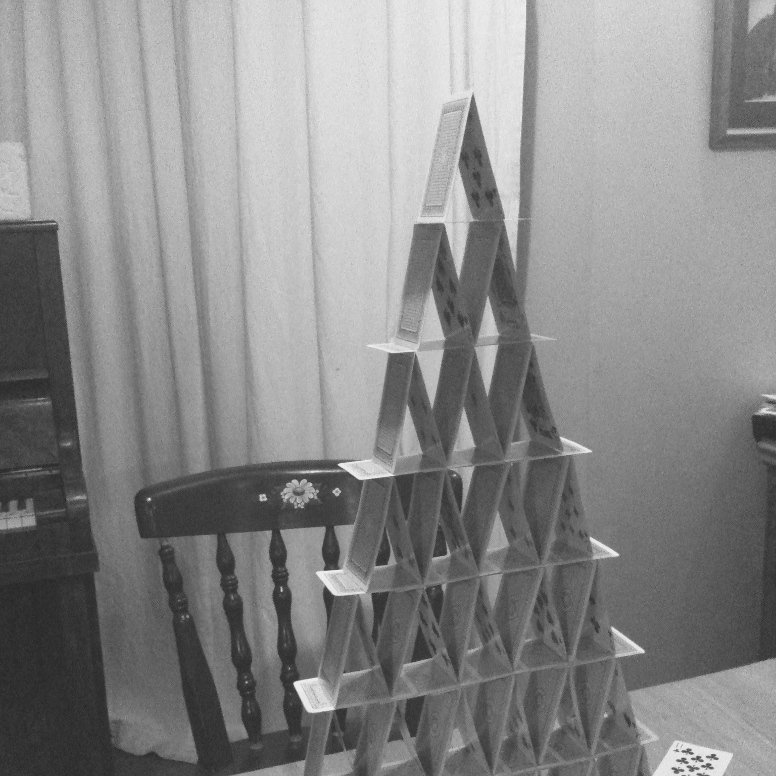 CARD TOWERS