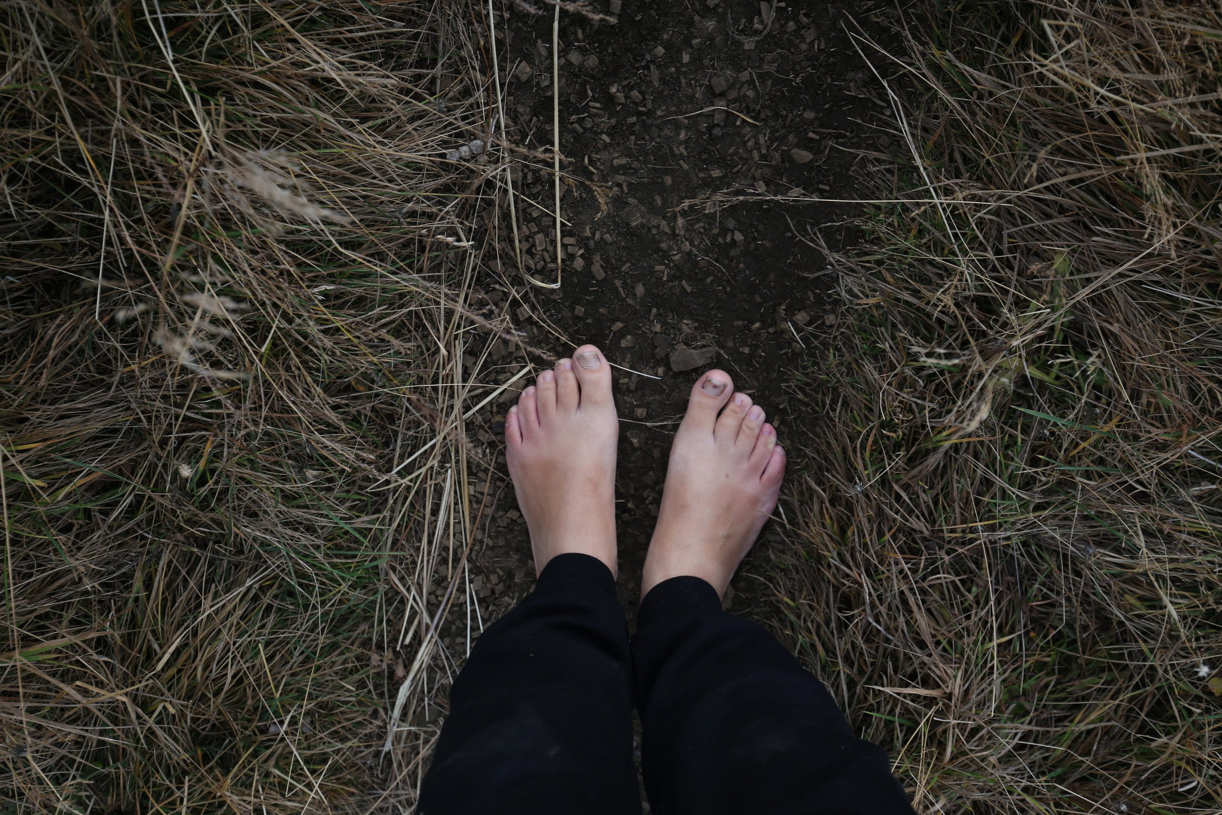grounding earthing feet