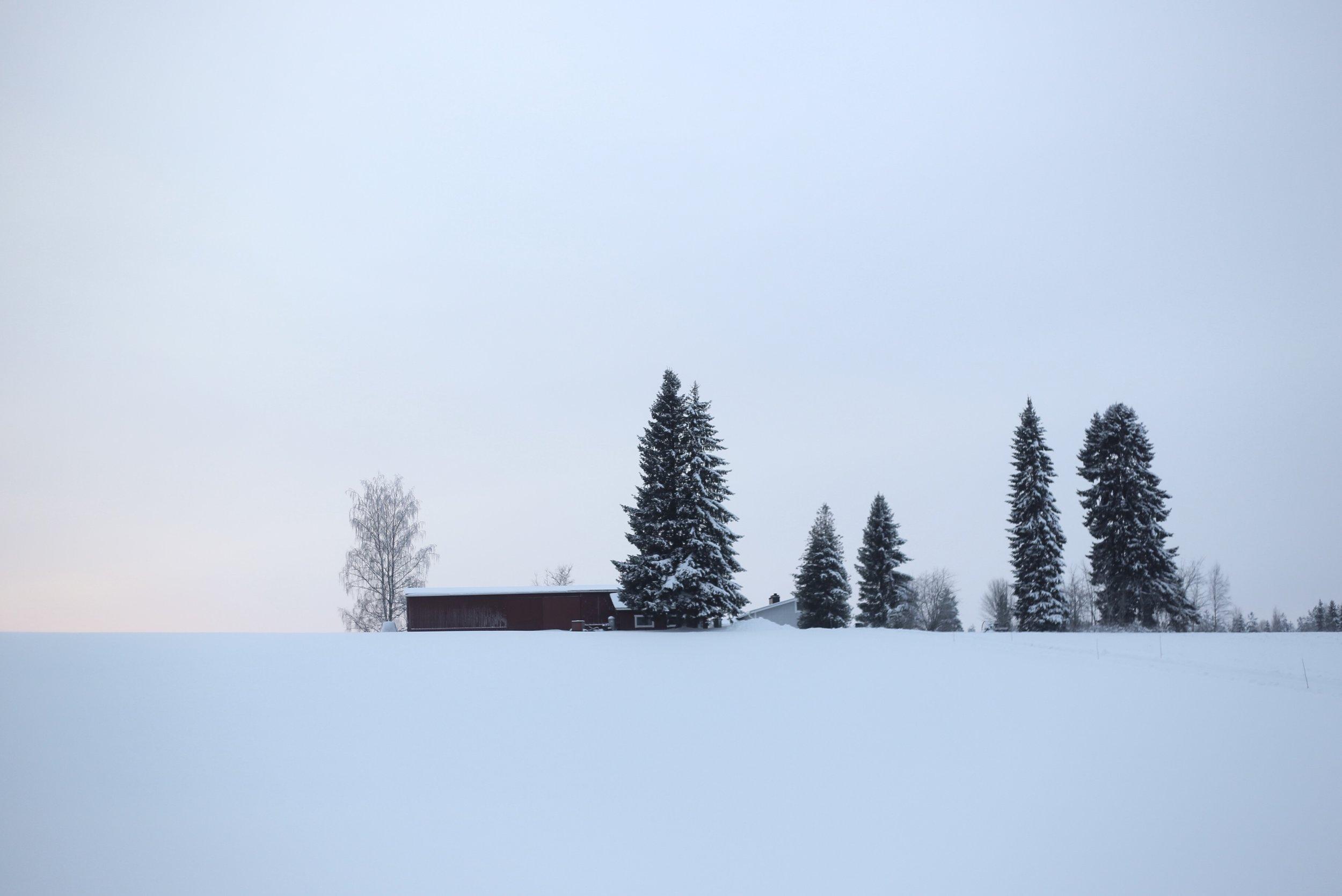 Finnish farmhouse