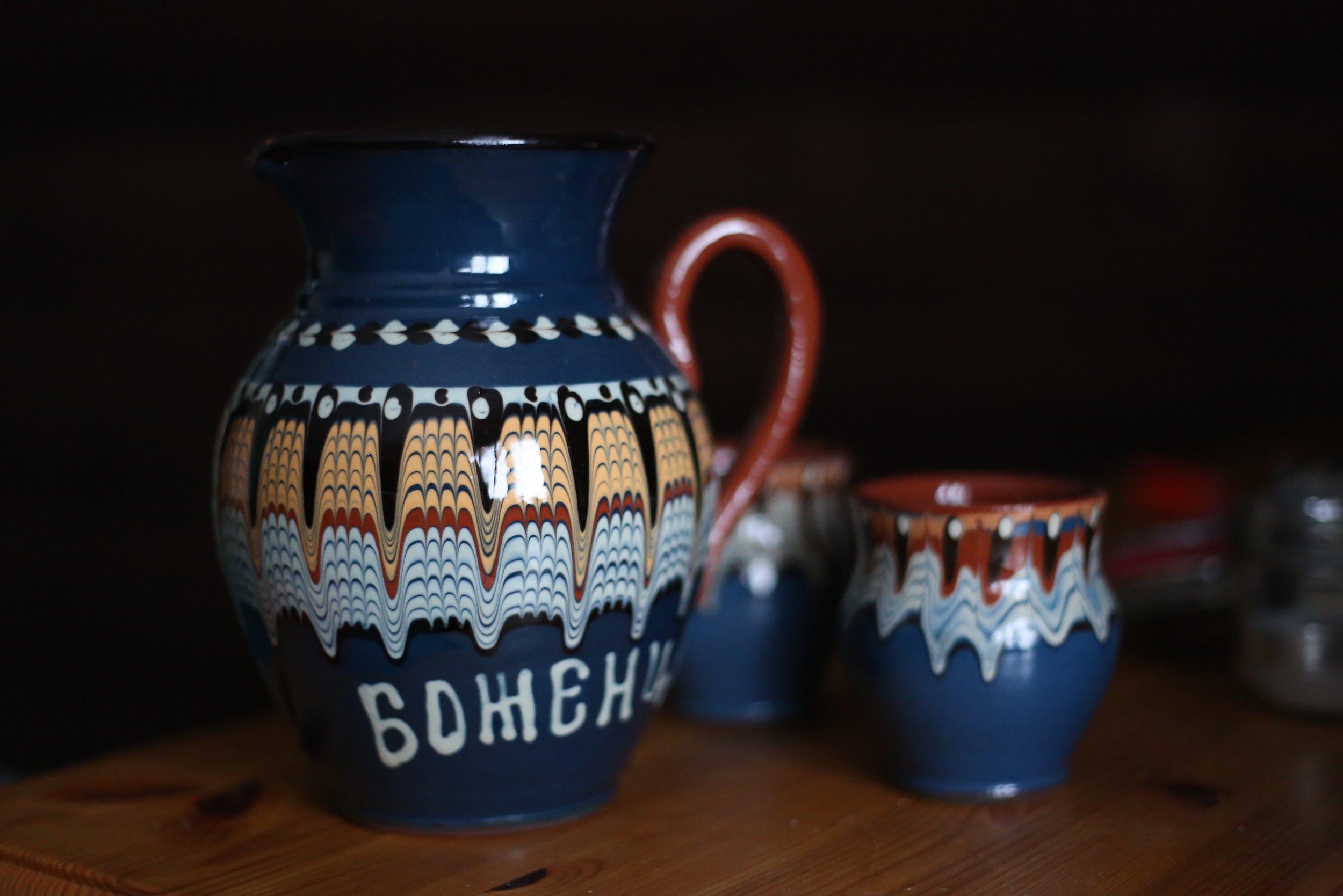 Finnish Russian pottery