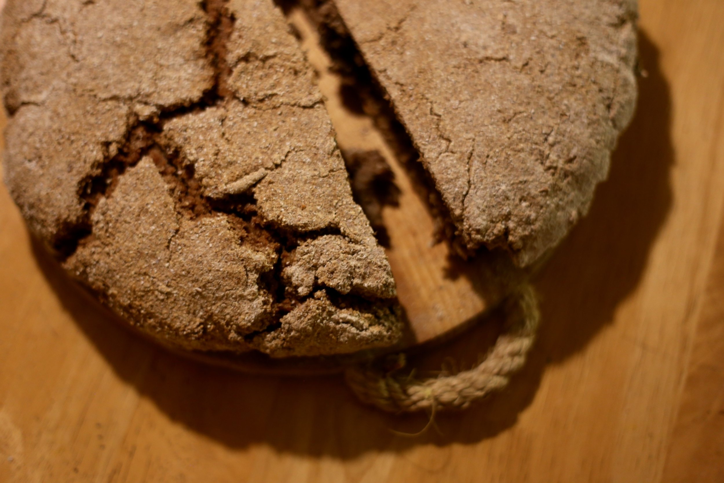 traditional Finnish rye bread