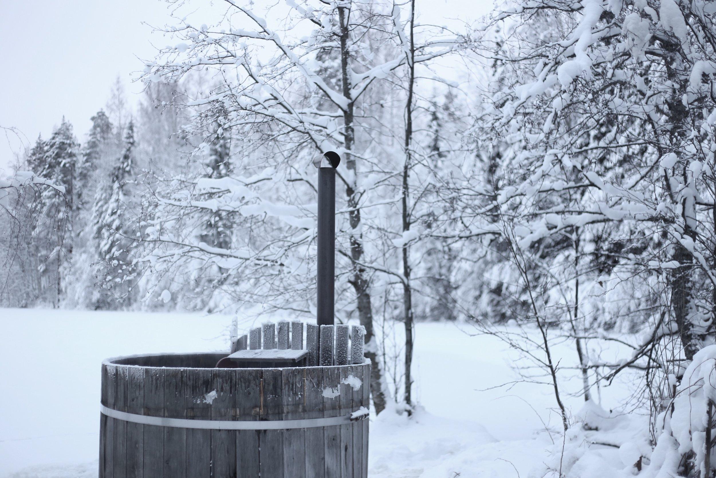 traditional Finnish bath