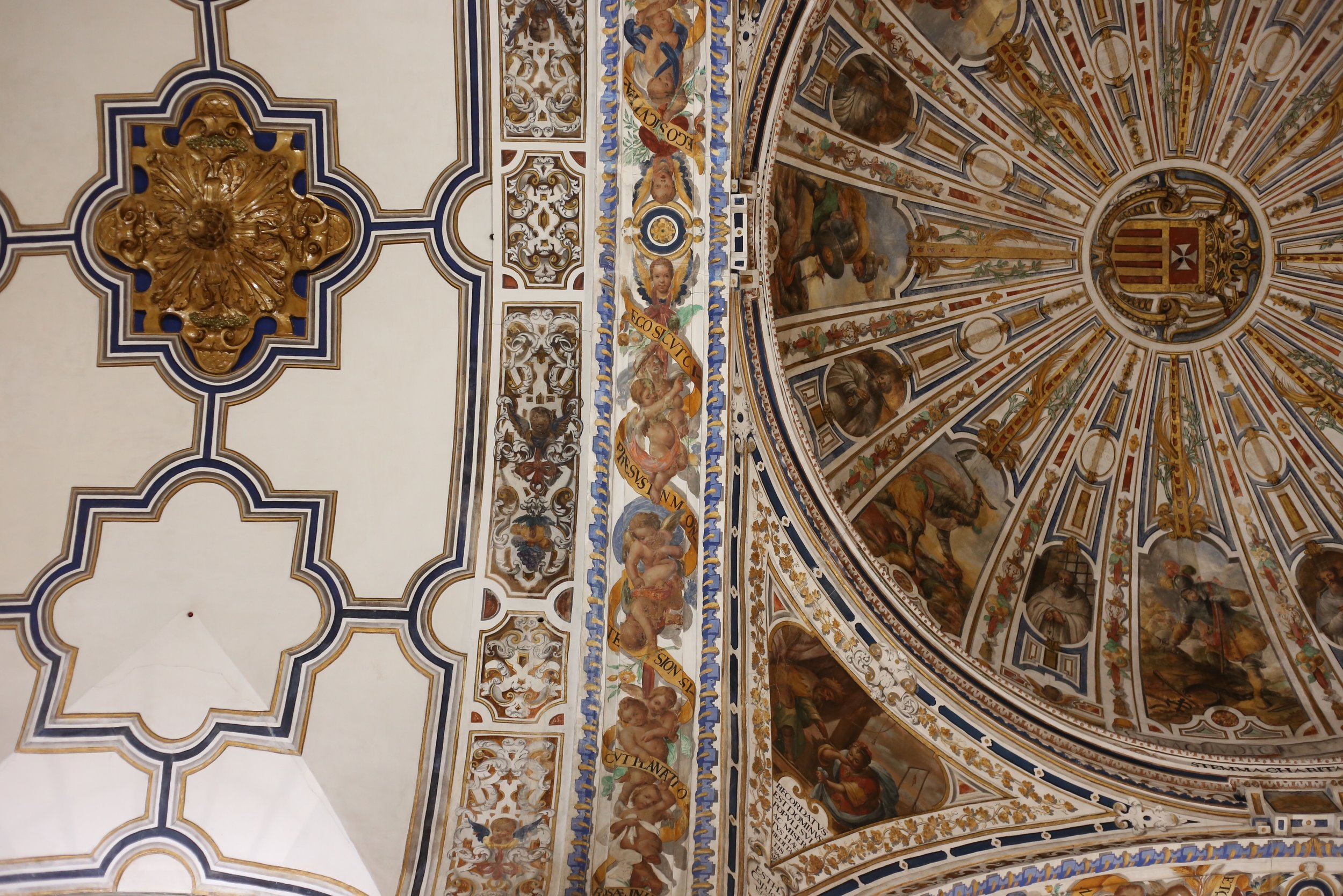 painted ceiling sevilla