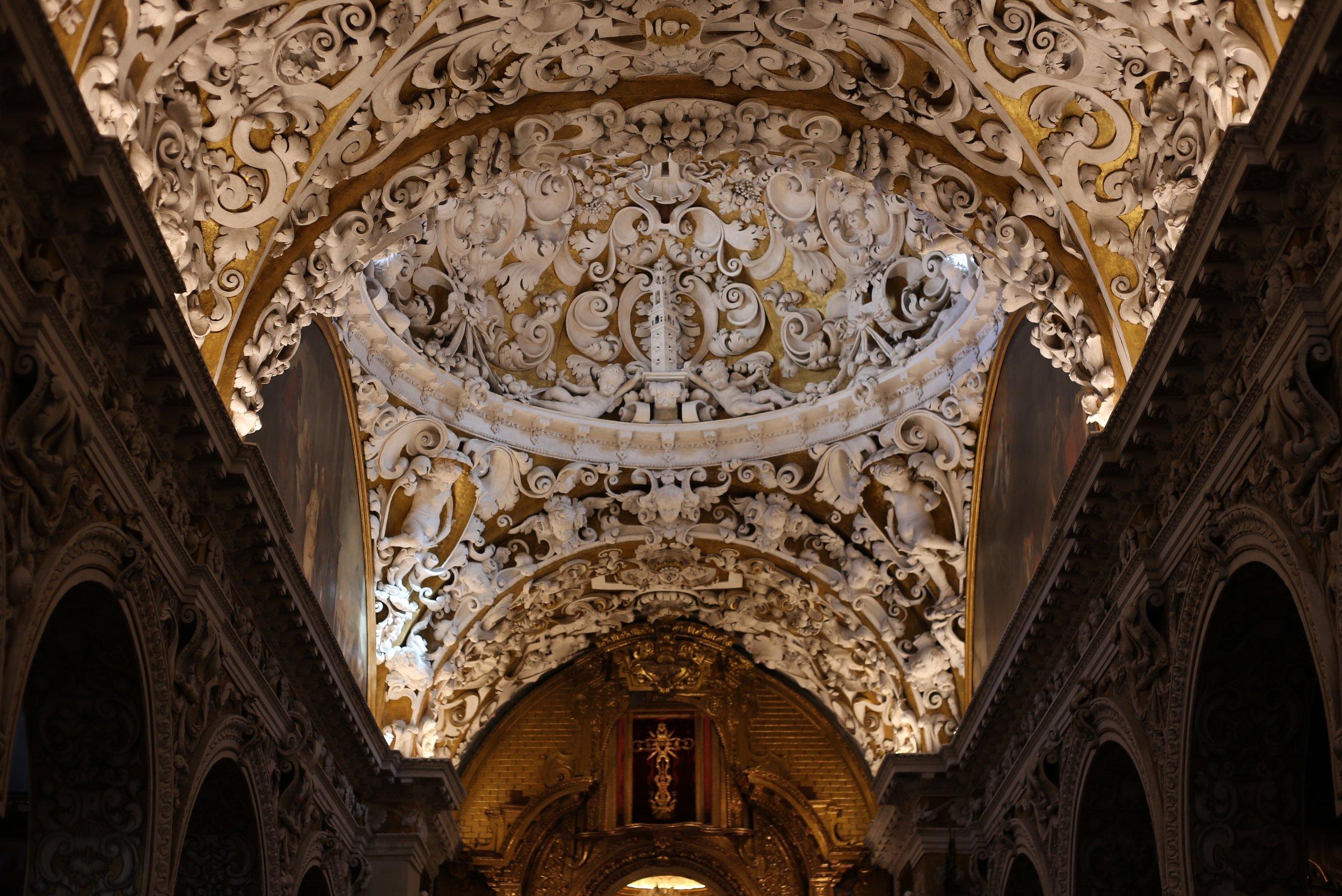beautiful church ceilings