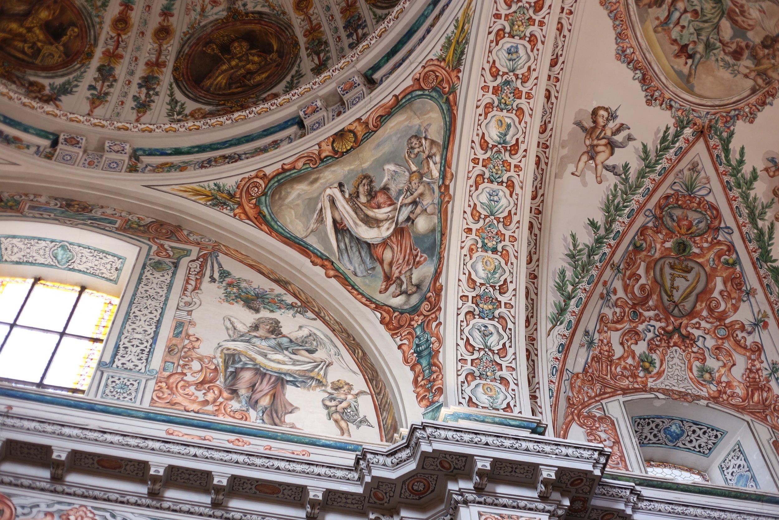 gorgeous churches Spain