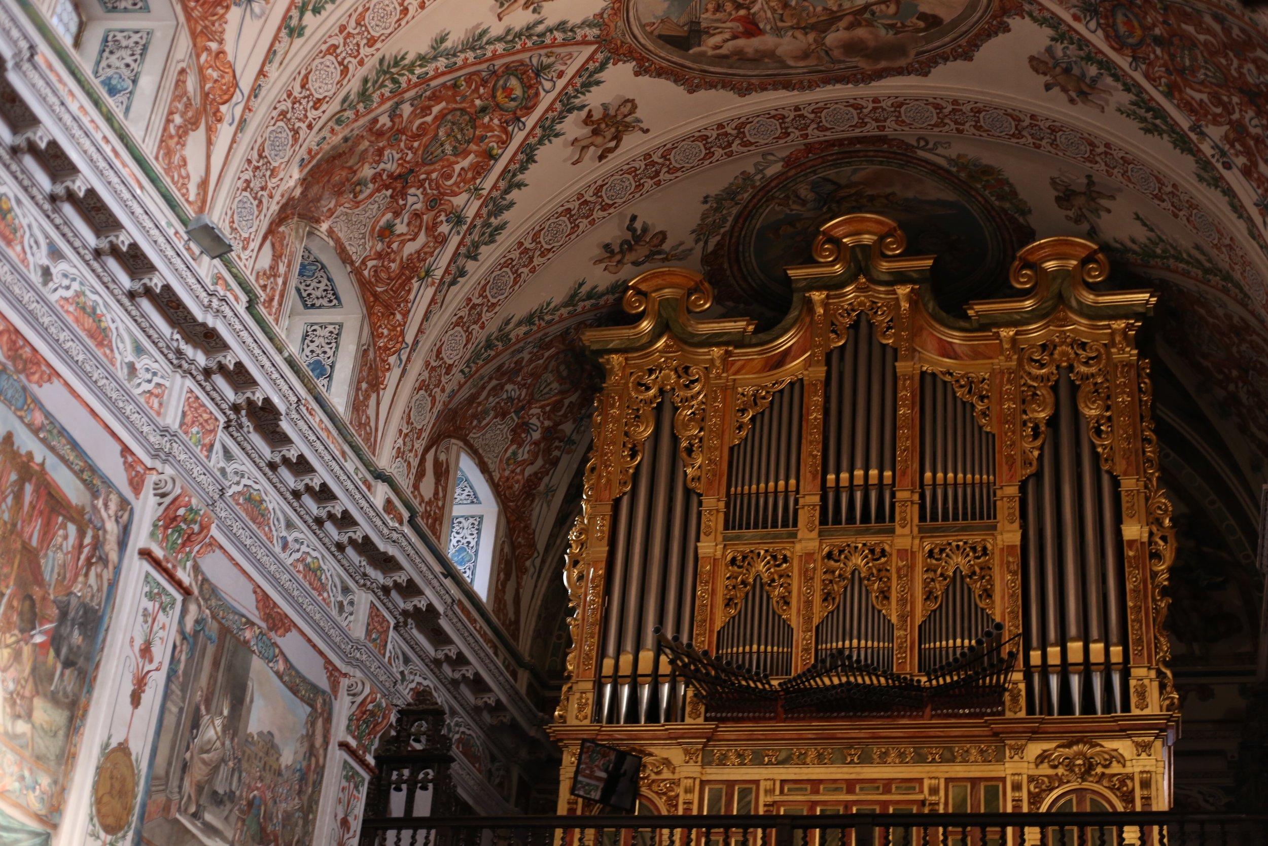 church organ sevilla