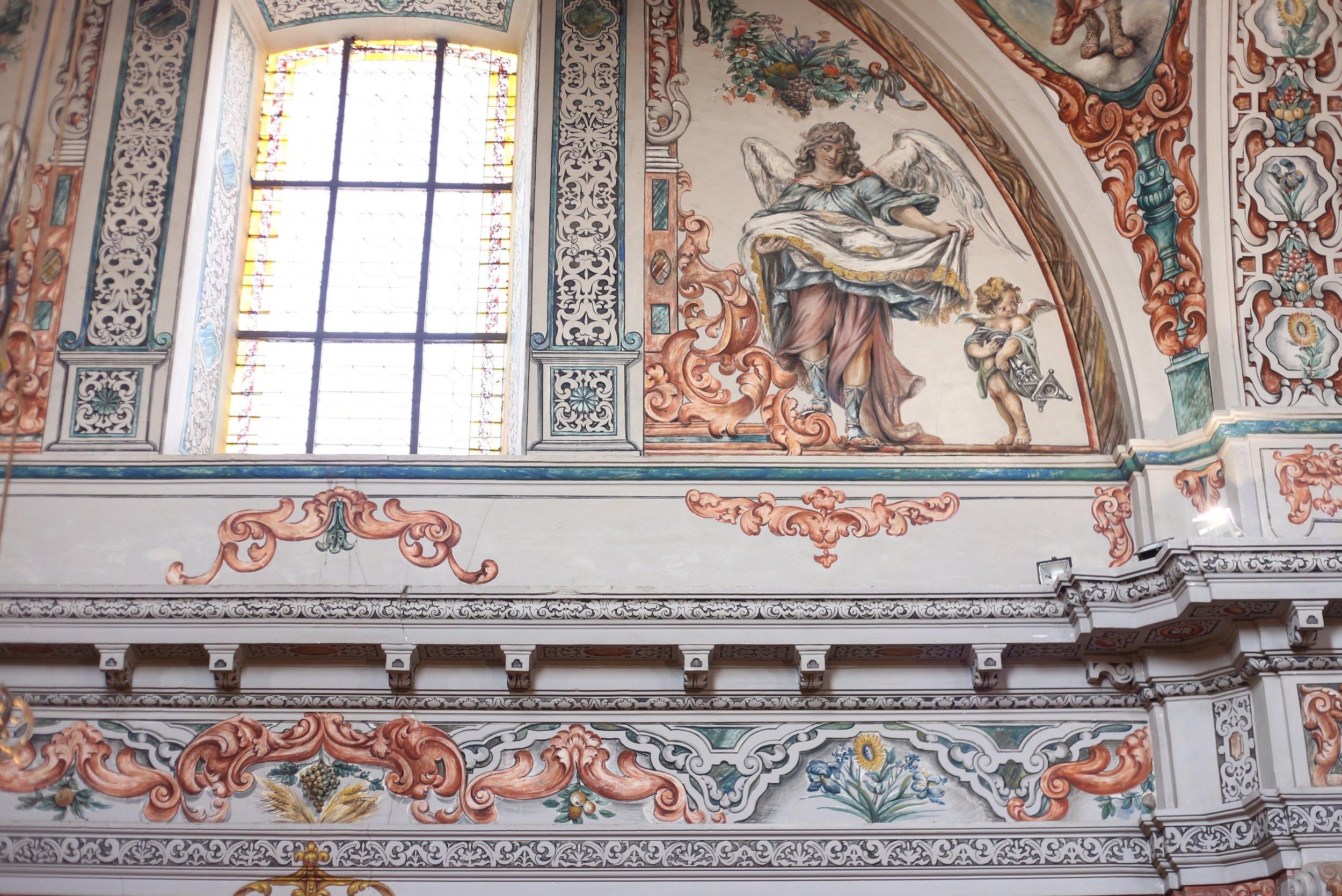frescoes sevilla