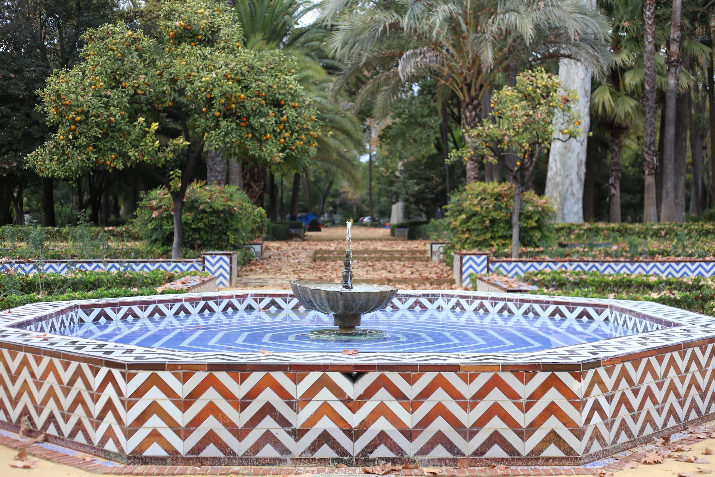 park maria Luisa sevilla fountain