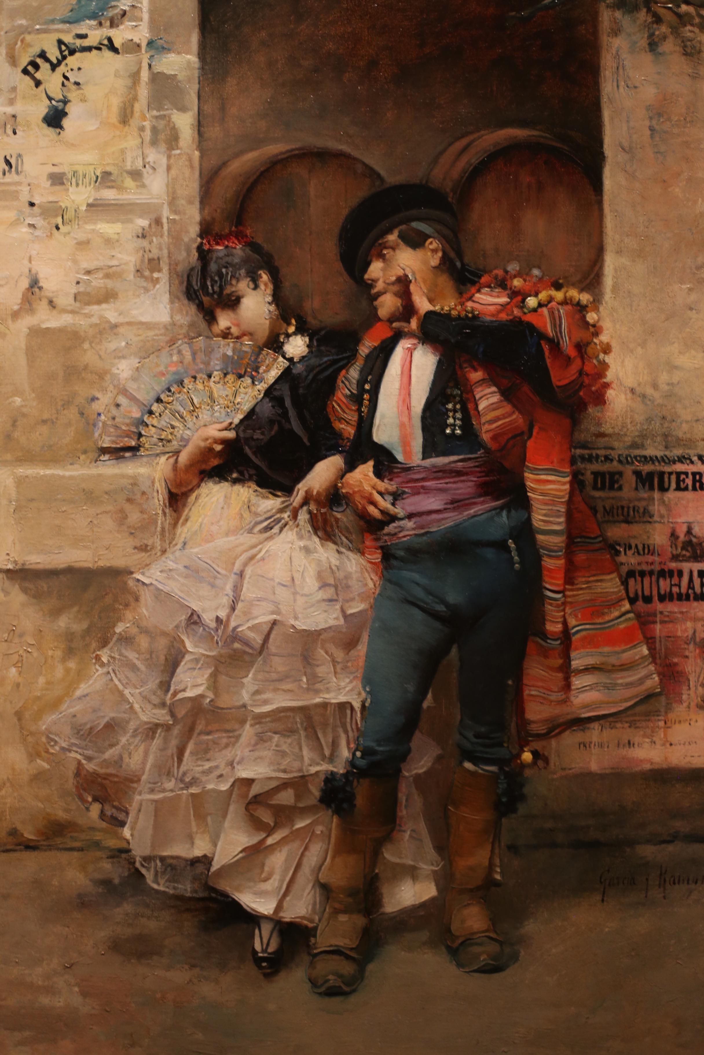 painting of gypsies by Jose Garcia Ramos