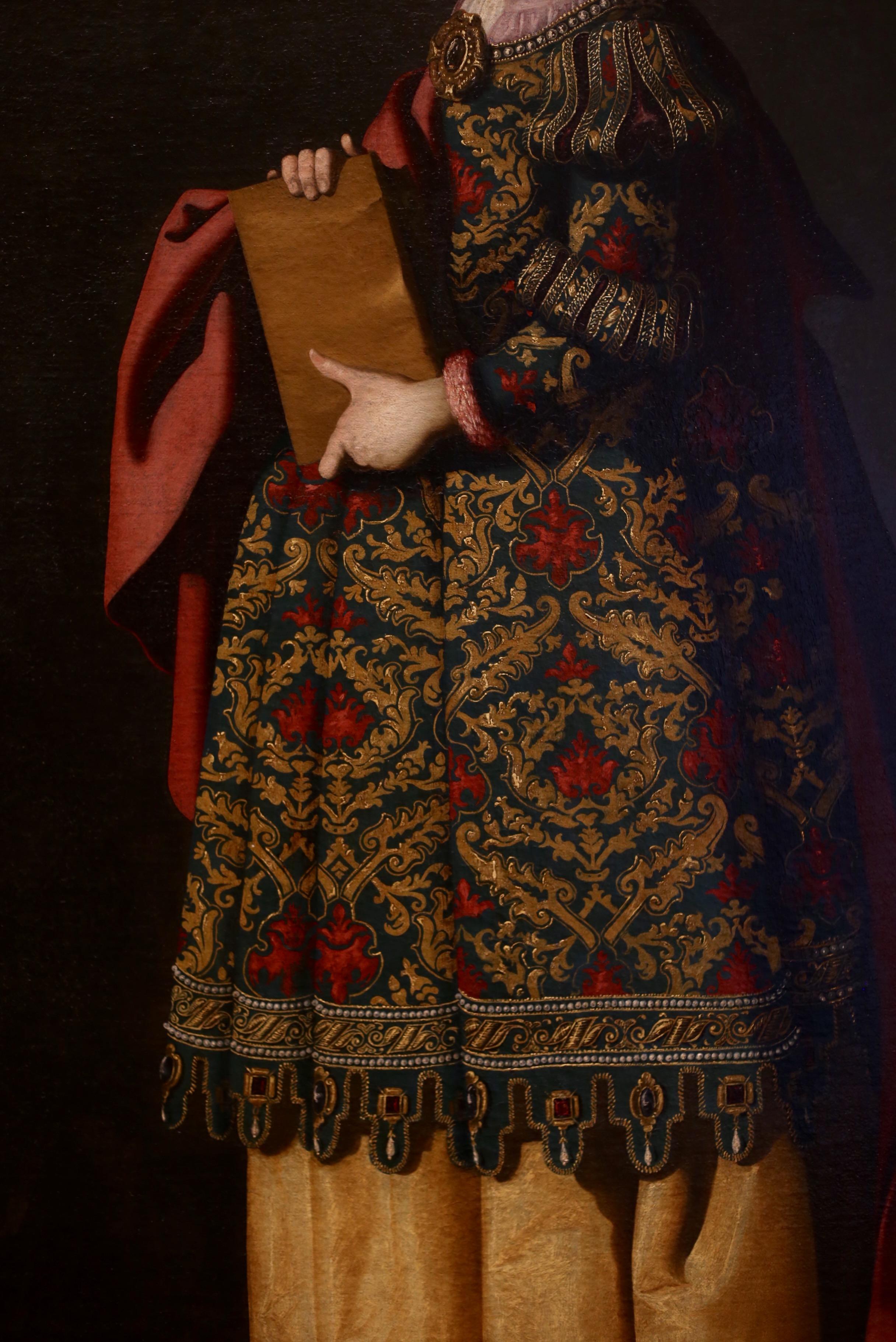 saint Matilde by taller de zurbaran
