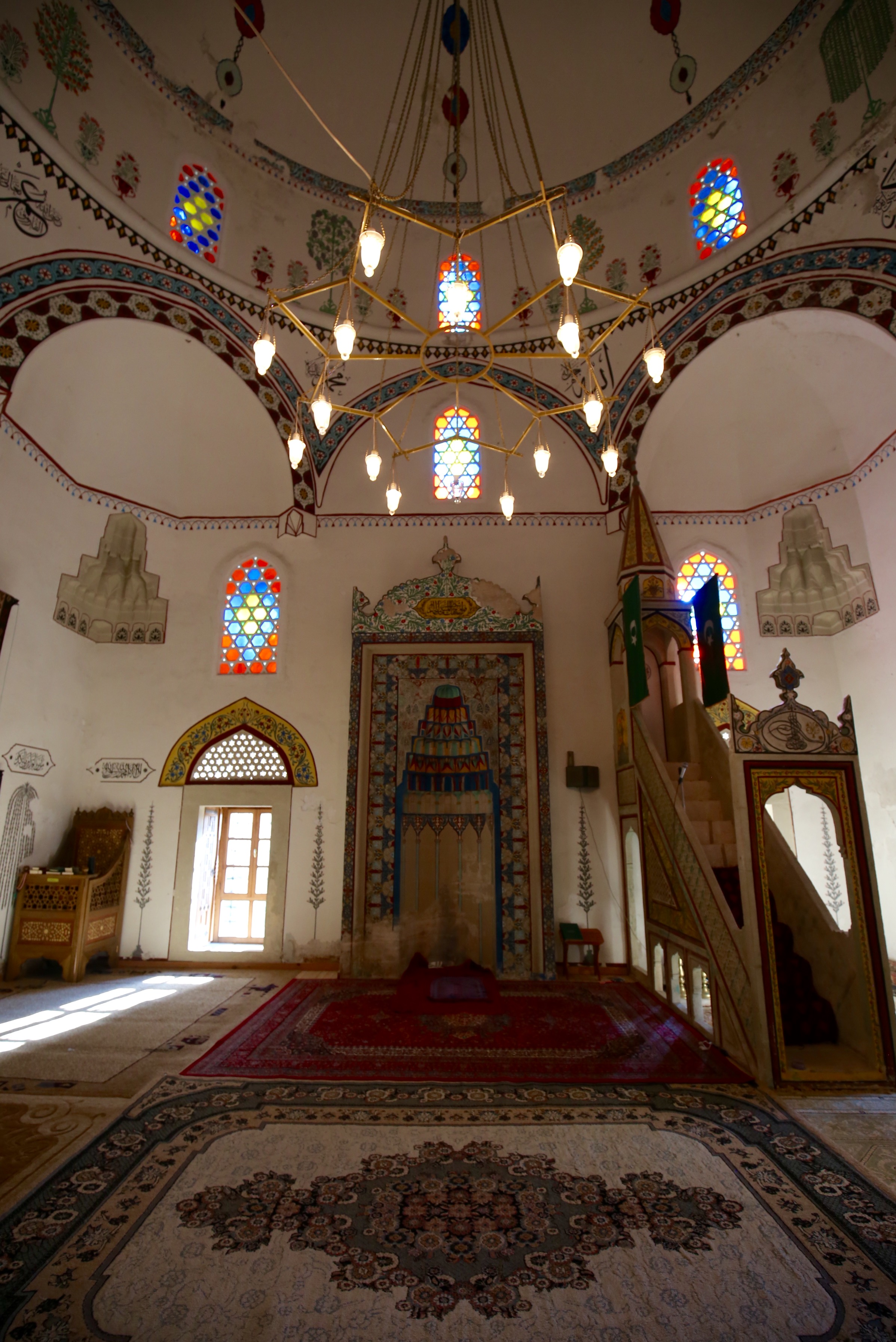 The mosque of Mostar, Hercegovina.