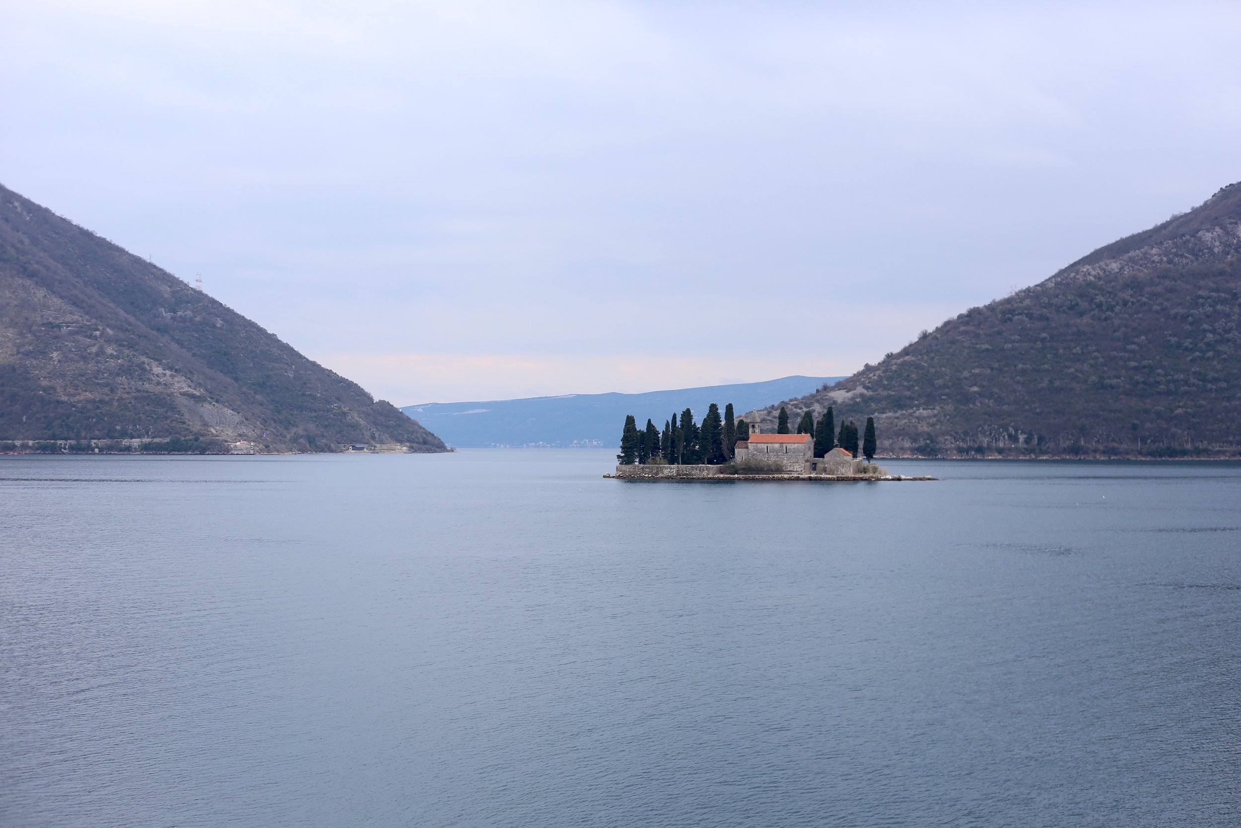 Our lady of the rocks, Montenegro.