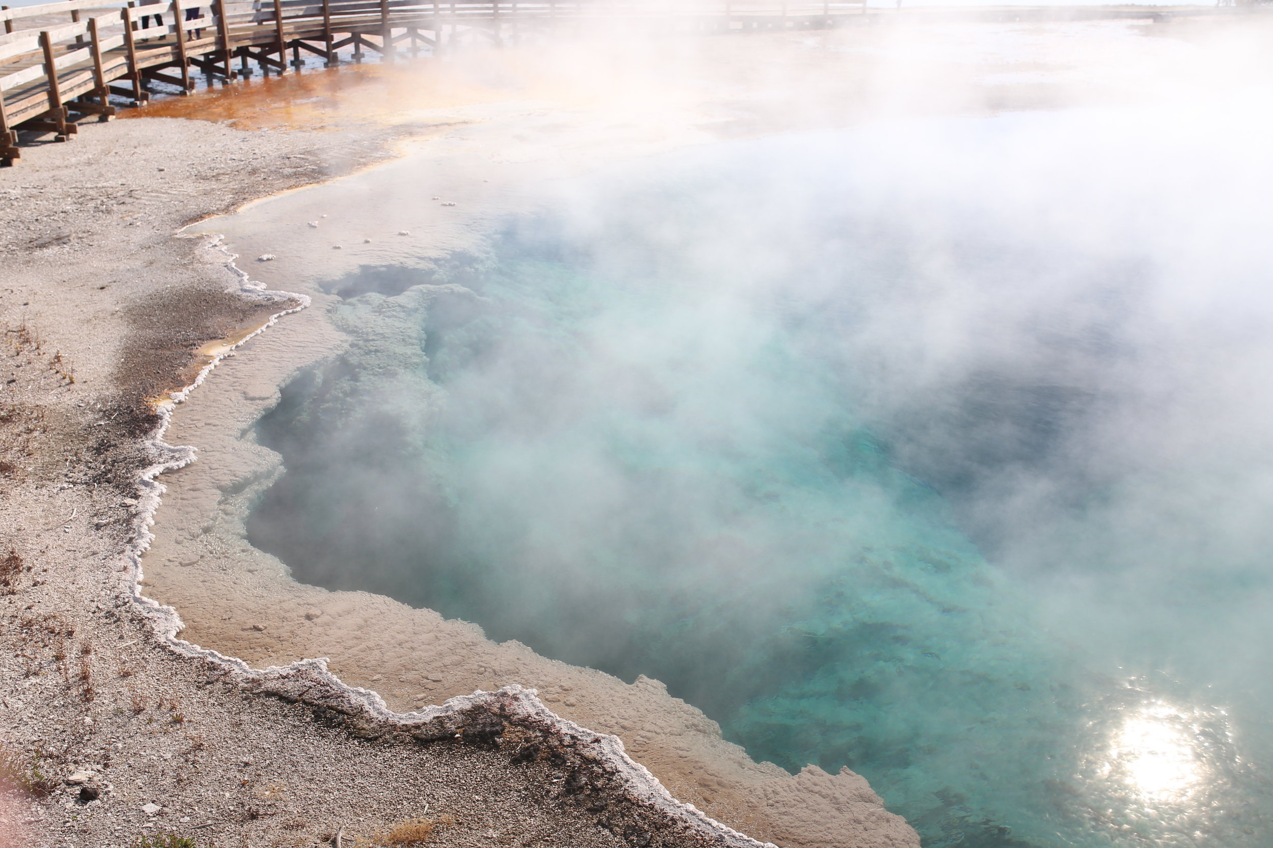 the black pool yellowstone