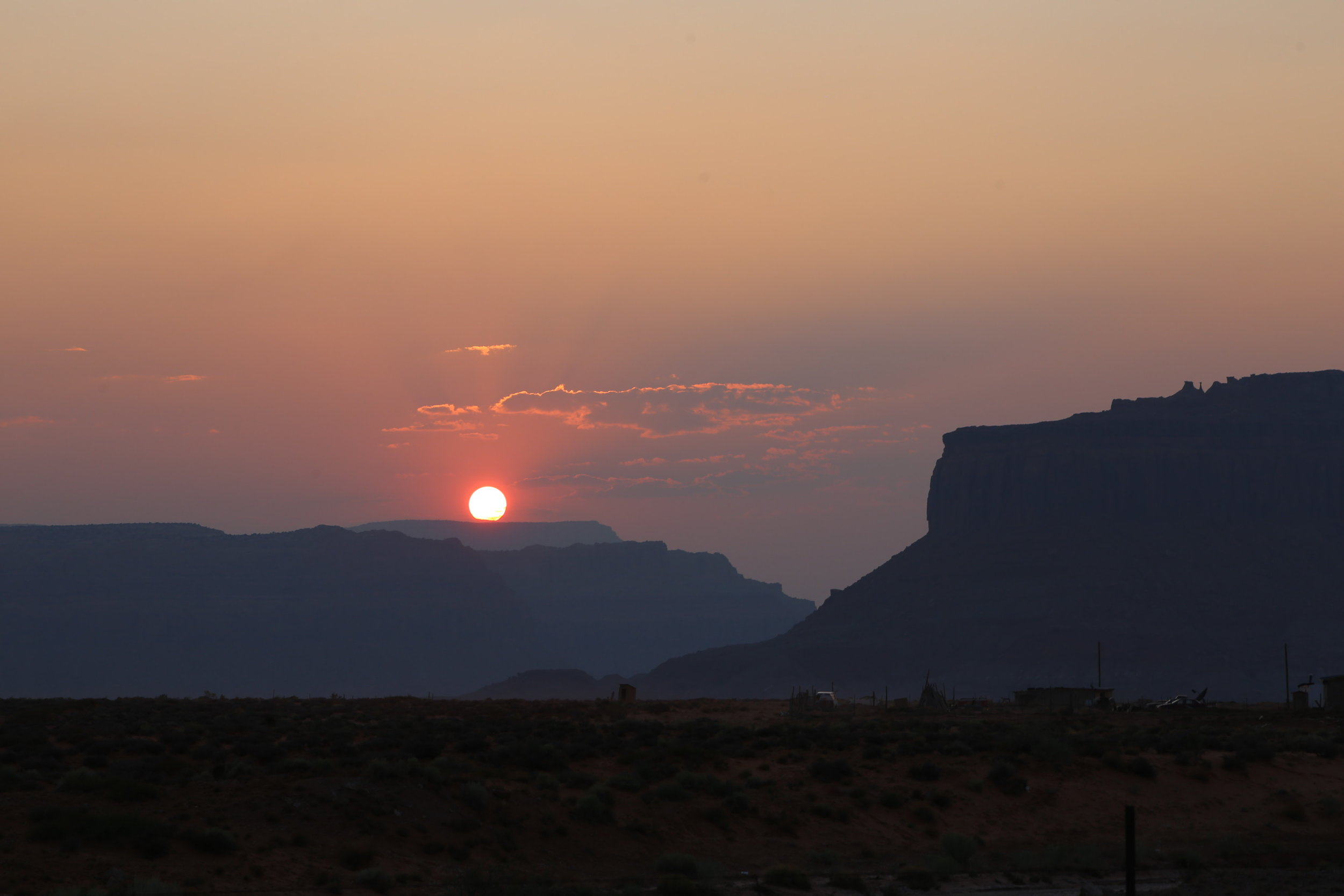 red-desert-sunset
