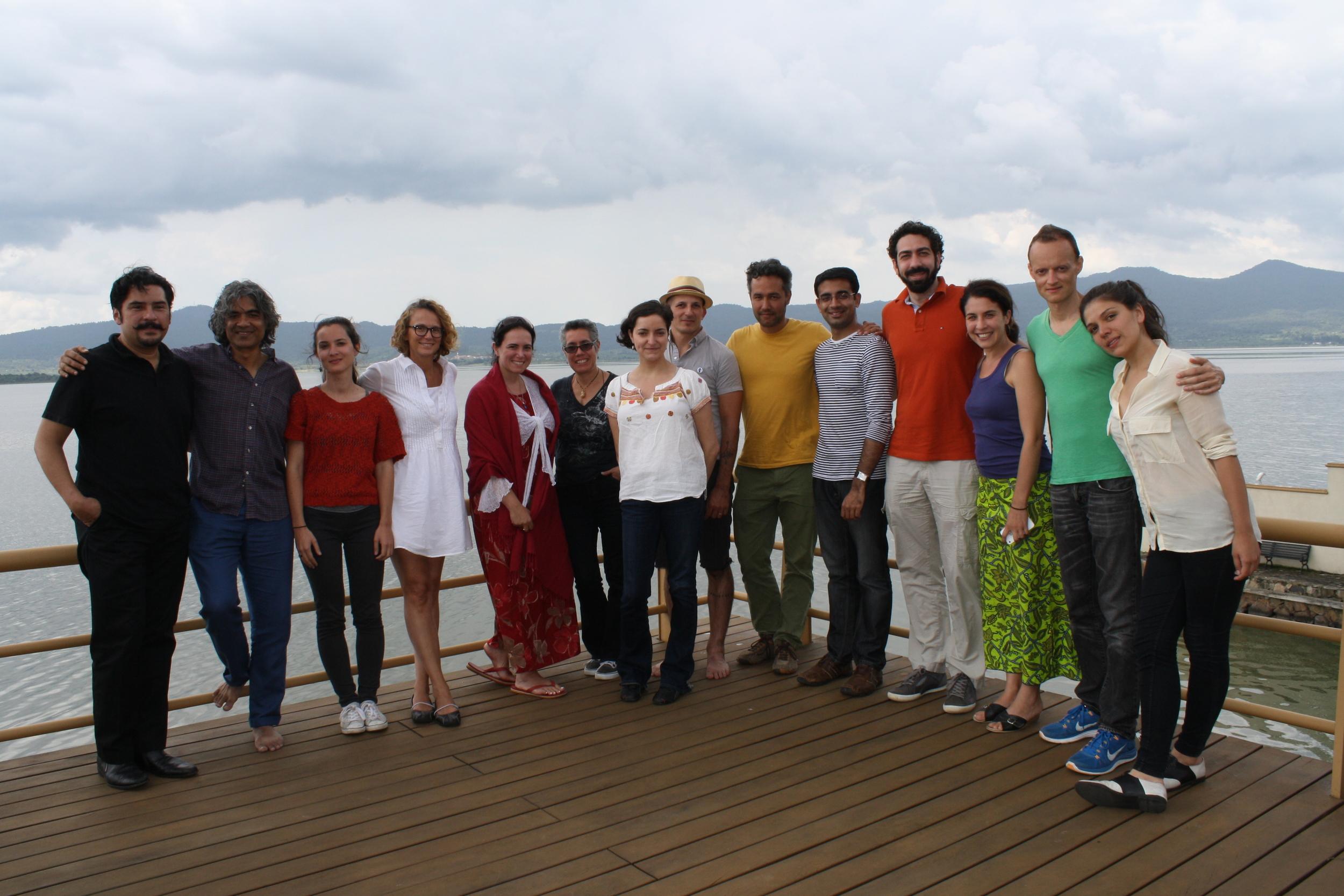 Cine Qua Non Lab Fellows in Morelia, México.