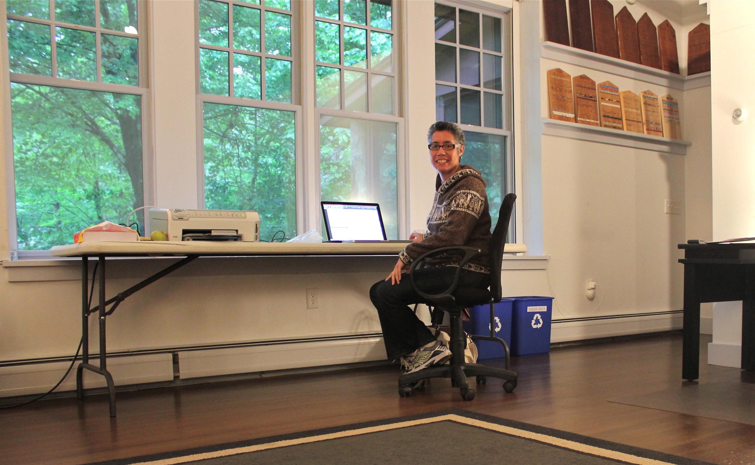 MacDowell Colony Fellowship to write screenplay.