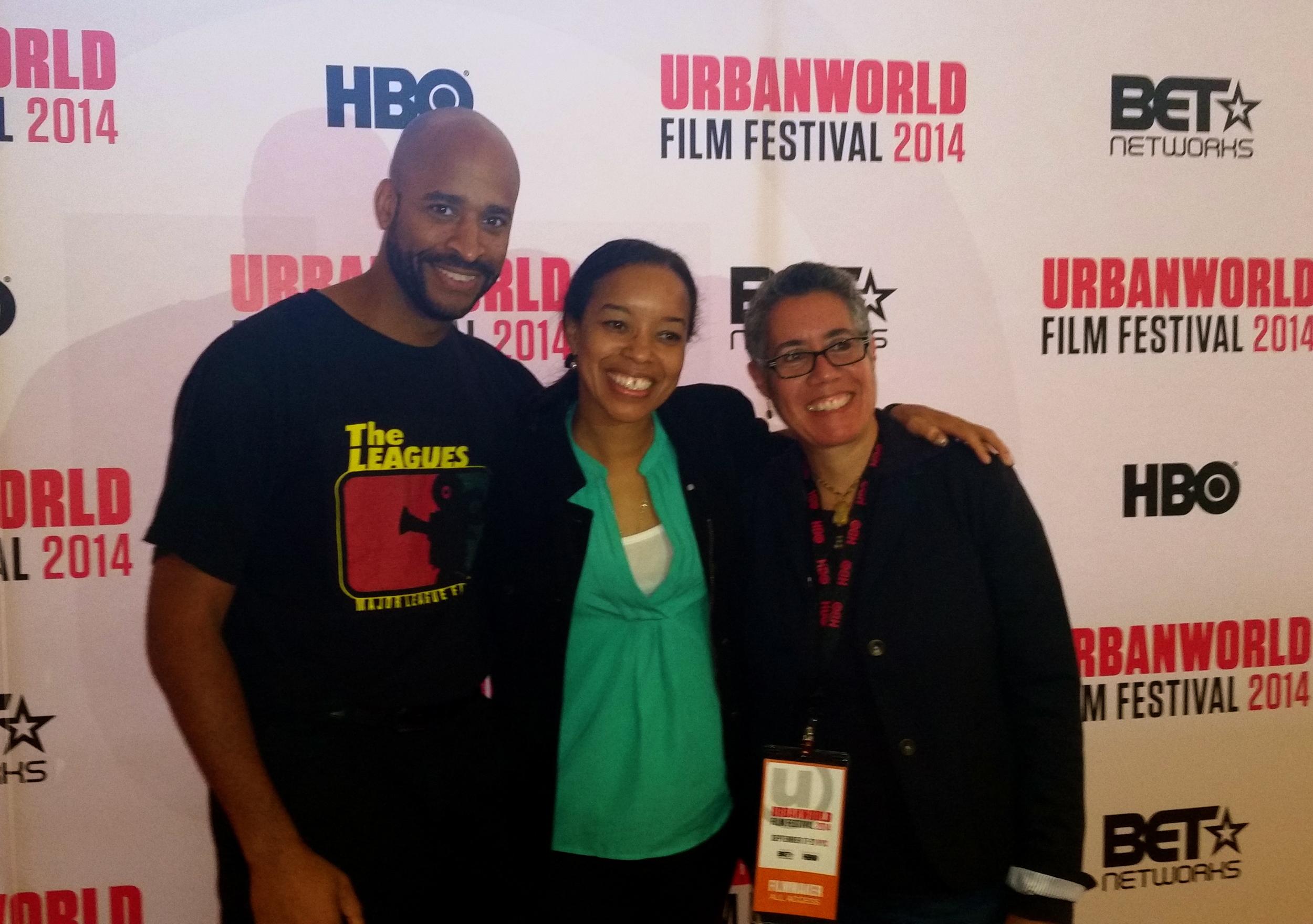 Urban World Film Festival with filmmaker, Booker T. Mattison and production designer, Toni Barton.