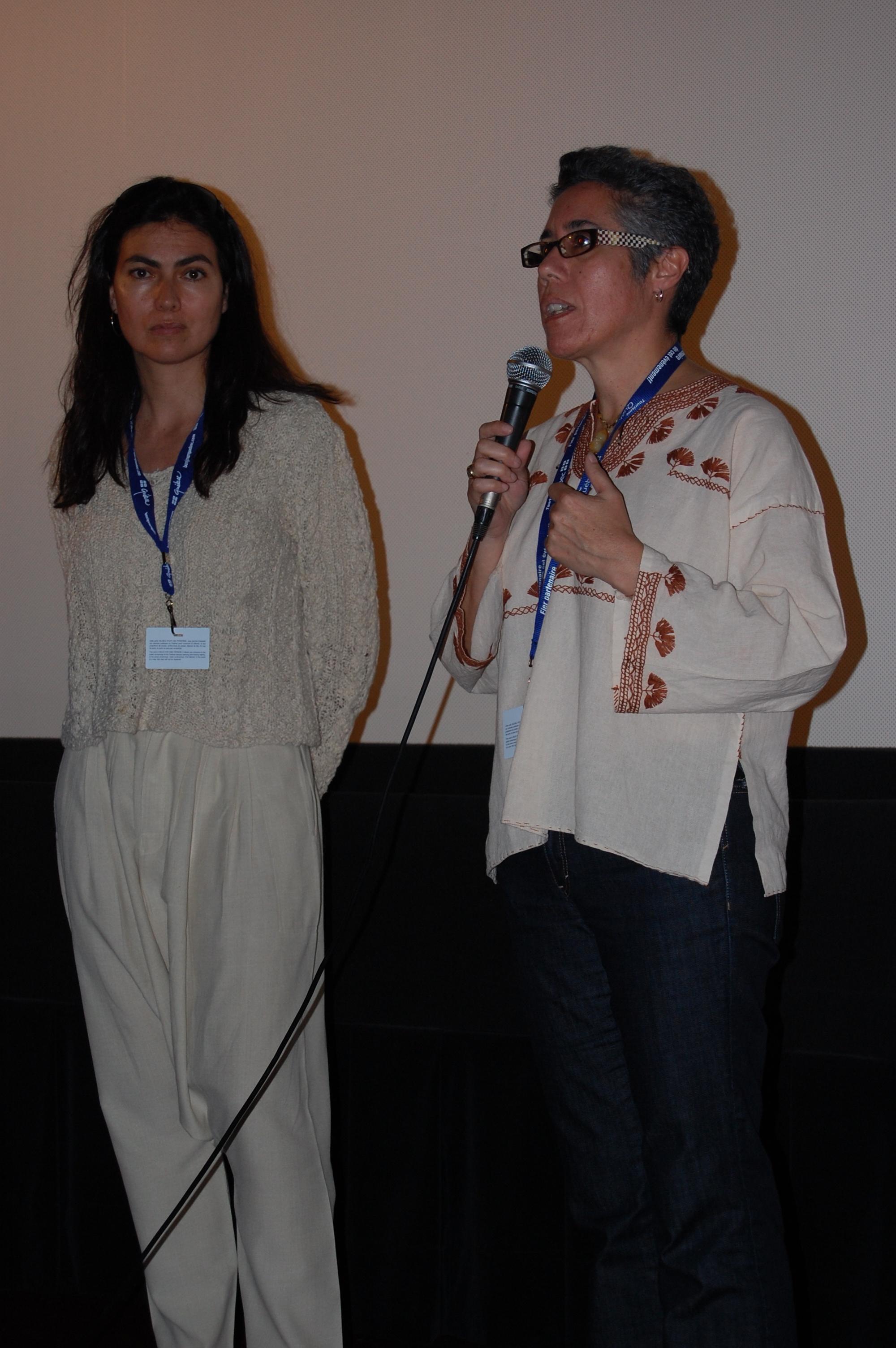 Q&A at Montreal World Film Festival where  Despertar  screened before Paula Siero's (pictured)  El Agua Del Fin Del Mundo.