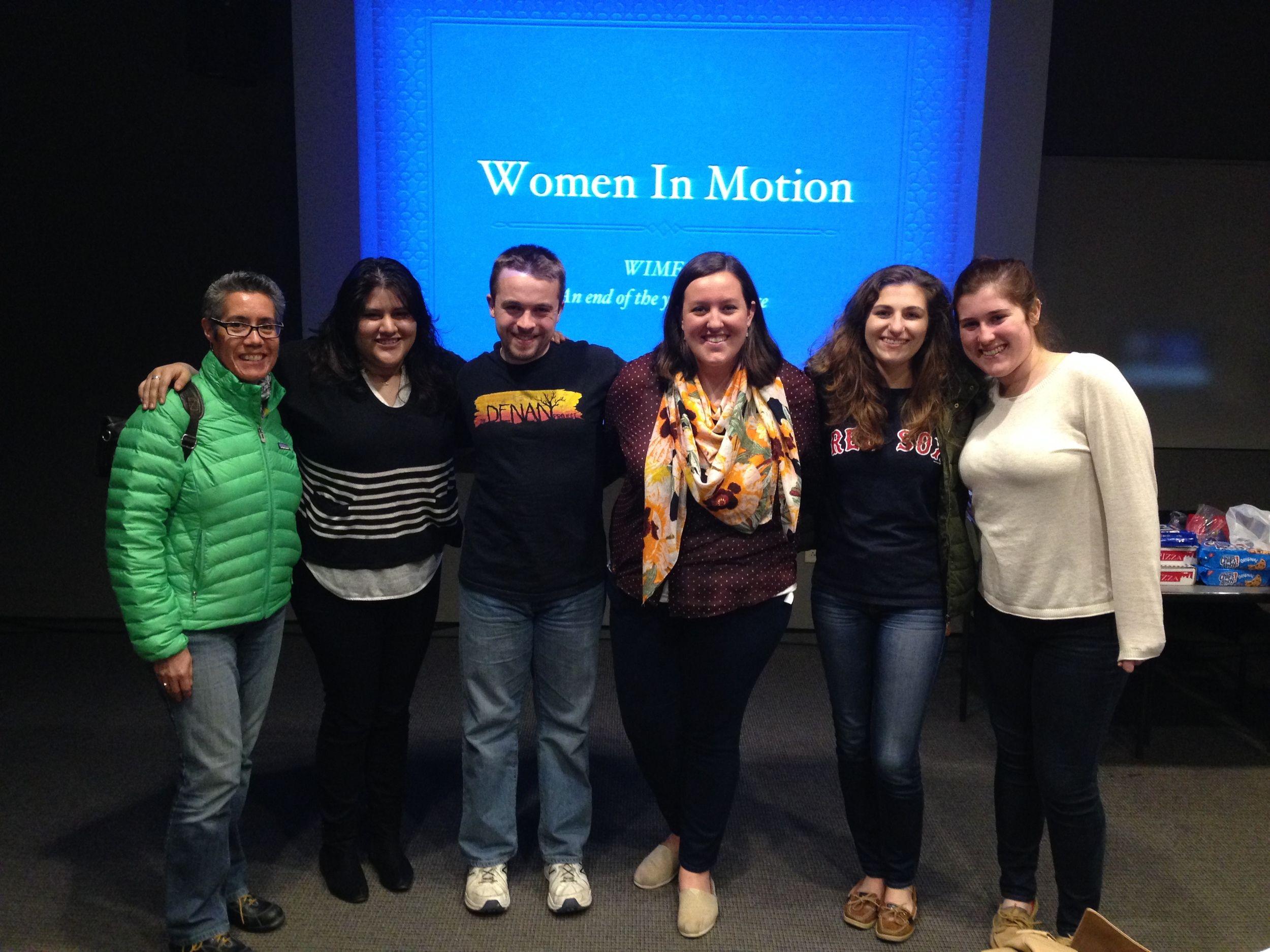 Advising Women in Motion at Emerson College