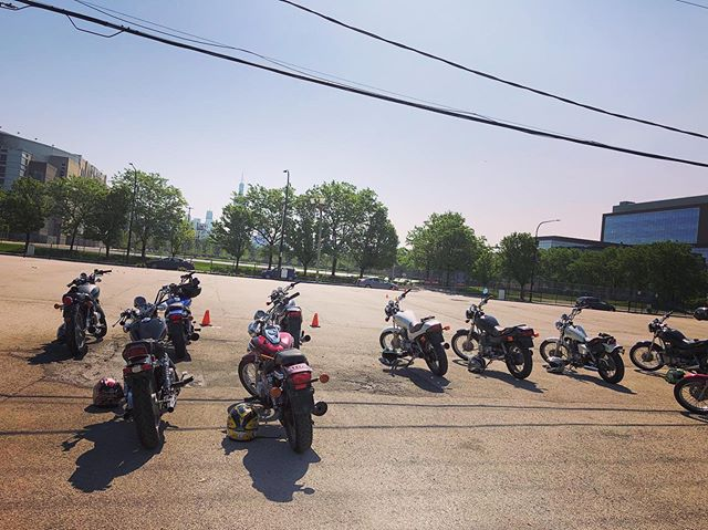 Well, this year for Motoblot, we'll know how to ride! Thank you to everyone at @ridechicago, we learned so much, and had such a blast! Watch out world, we're coming for ya!