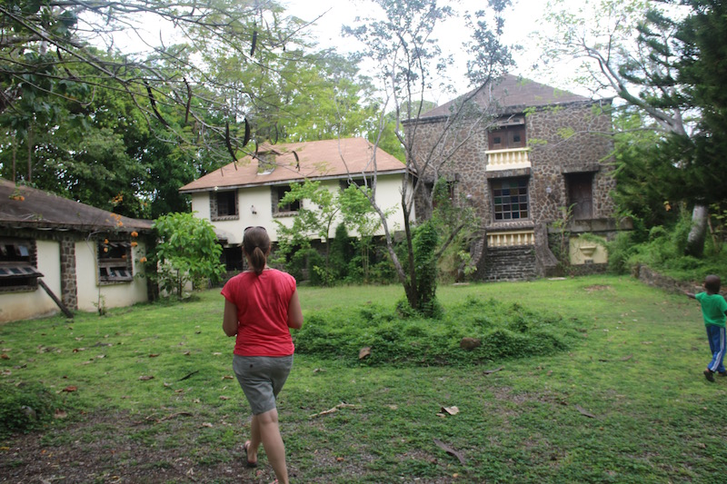 An abandon property for sale in Saint Lucia