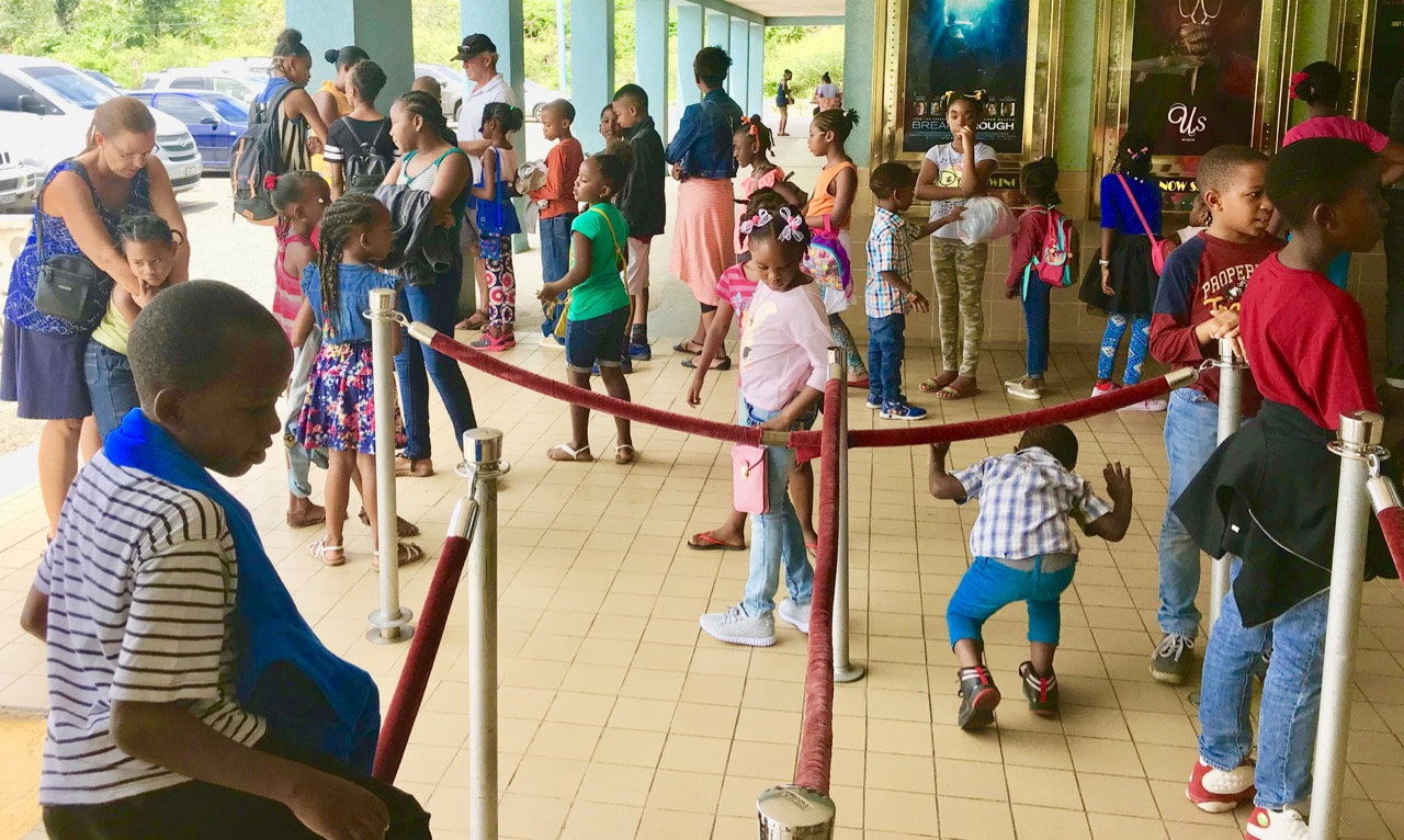 Kids Club at the Caribbean Cinema