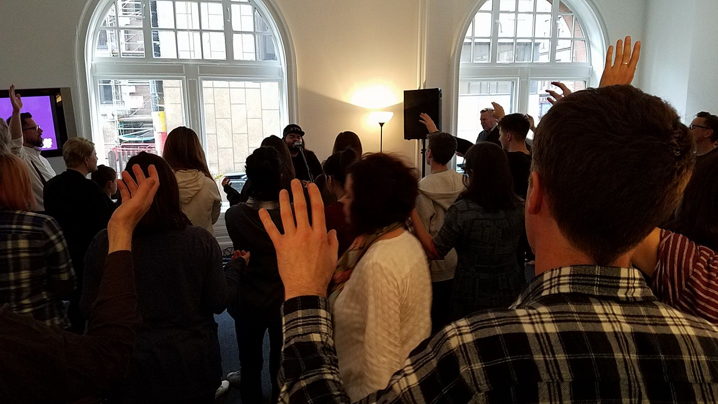 Worship with Rick Pino at Glasgow Prophetic Centre
