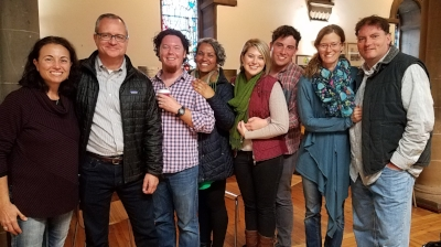 Cathy, Terry Cantrell, Jason and Fernanda Warnock (Sozo Team), Melissa and Justin Rogers (on holiday), Heather and Lance Canter (Missionaries)
