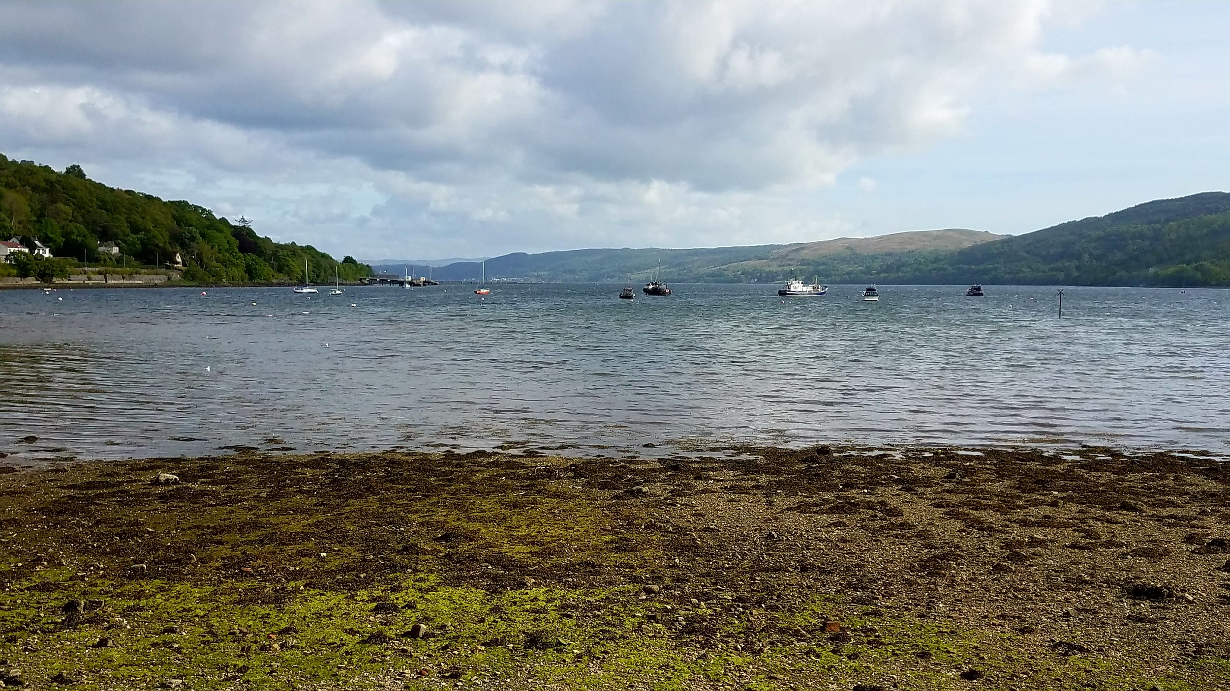 Beauty from the end of Gare Loch