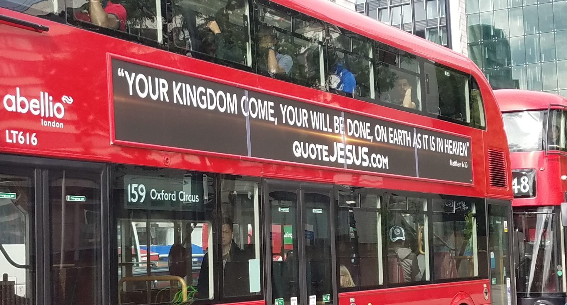 QuoteJesus.com filling the city with the words of Jesus