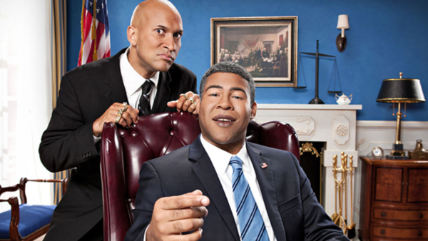 Peele (right) as President Barack Obama and Key (left) as his anger translator Luther.