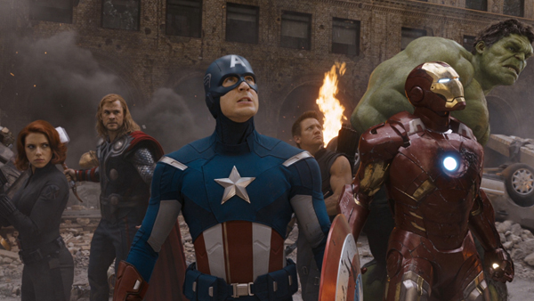 The Avengers face-off against a threat far more ominous than Chitauri alien invaders– corporate lawyers.