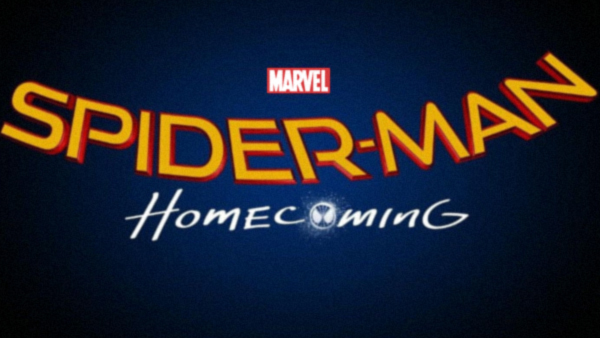 The bold new logo for next year's  Spider-Man: Homecoming !