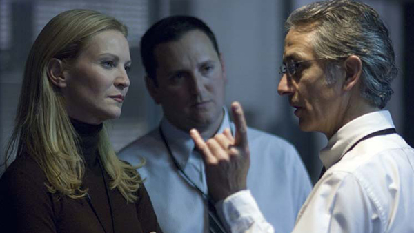 Landy and newcomer Noah Vosen (David Strathairn) frequently disagree over how to handle Bourne.