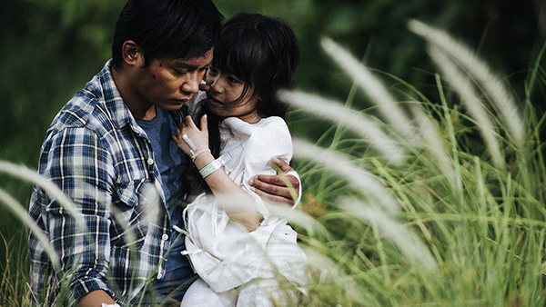 Chatchai's storyline with his terminally ill daughter adds some emotional depth to the film.Too bad it wasn't handled better.