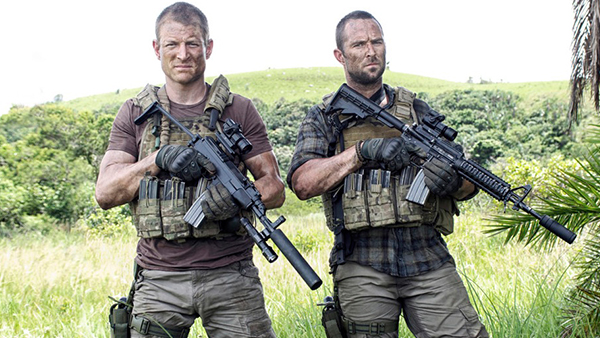 Phillip Winchester's Stonebridge (left) and Sullivan Stapleton's Scott (right) have some fantastic chemistry and are part of the reason this show is so fun to watch.