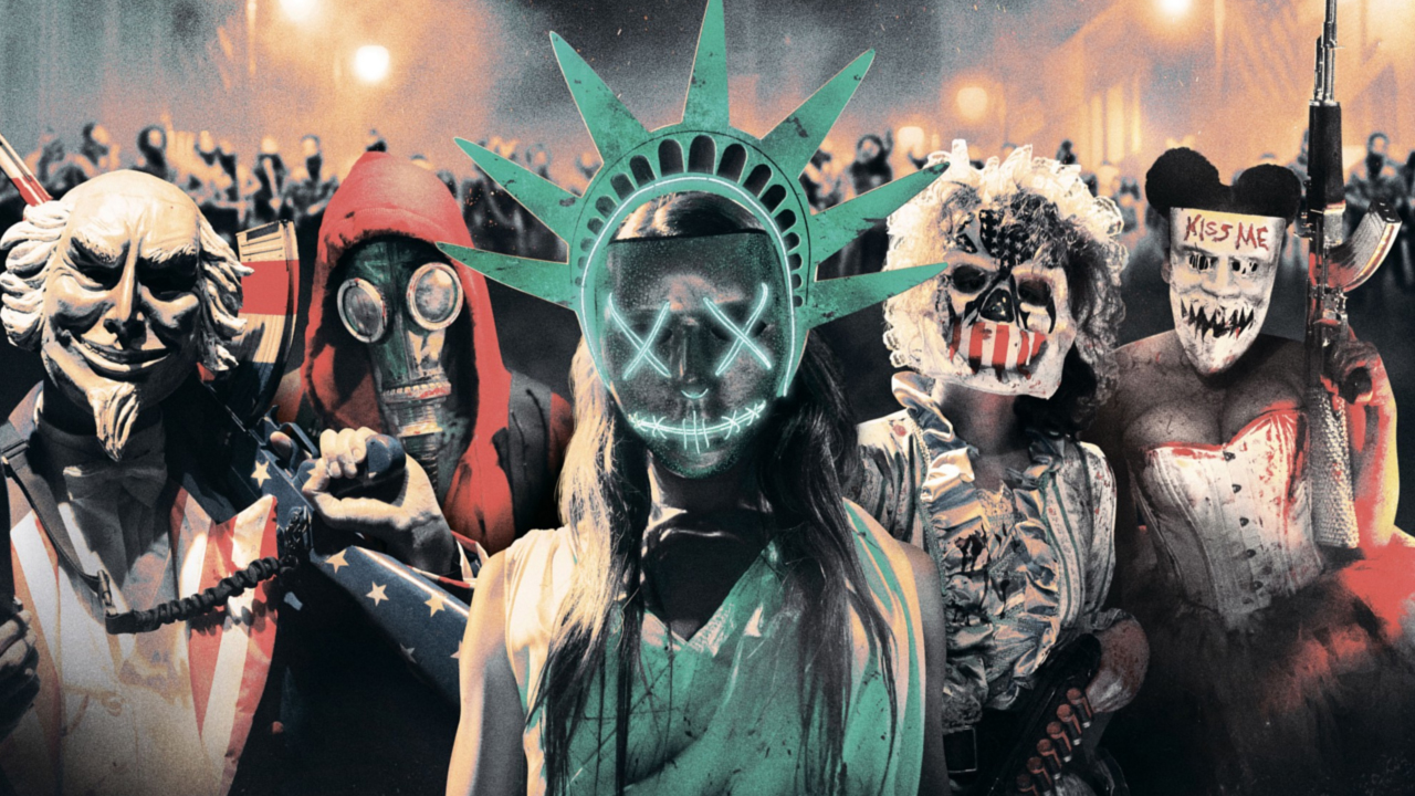 """""""Movie Review: The Purge - Election Year"""" posted by Andy Snyder on 7/8/16"""