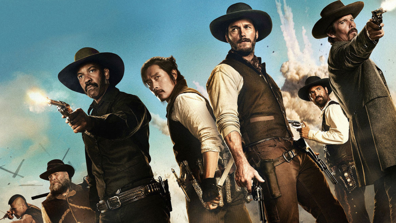 """""""Movie Review: The Magnificent Seven"""" posted by Andy Snyder on 10/19/16"""