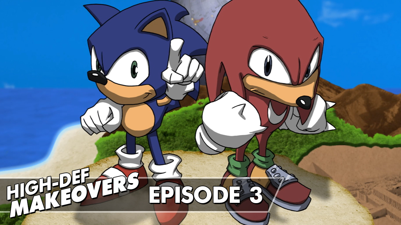 Episode 3 • Sonic & Knuckles Title Screen